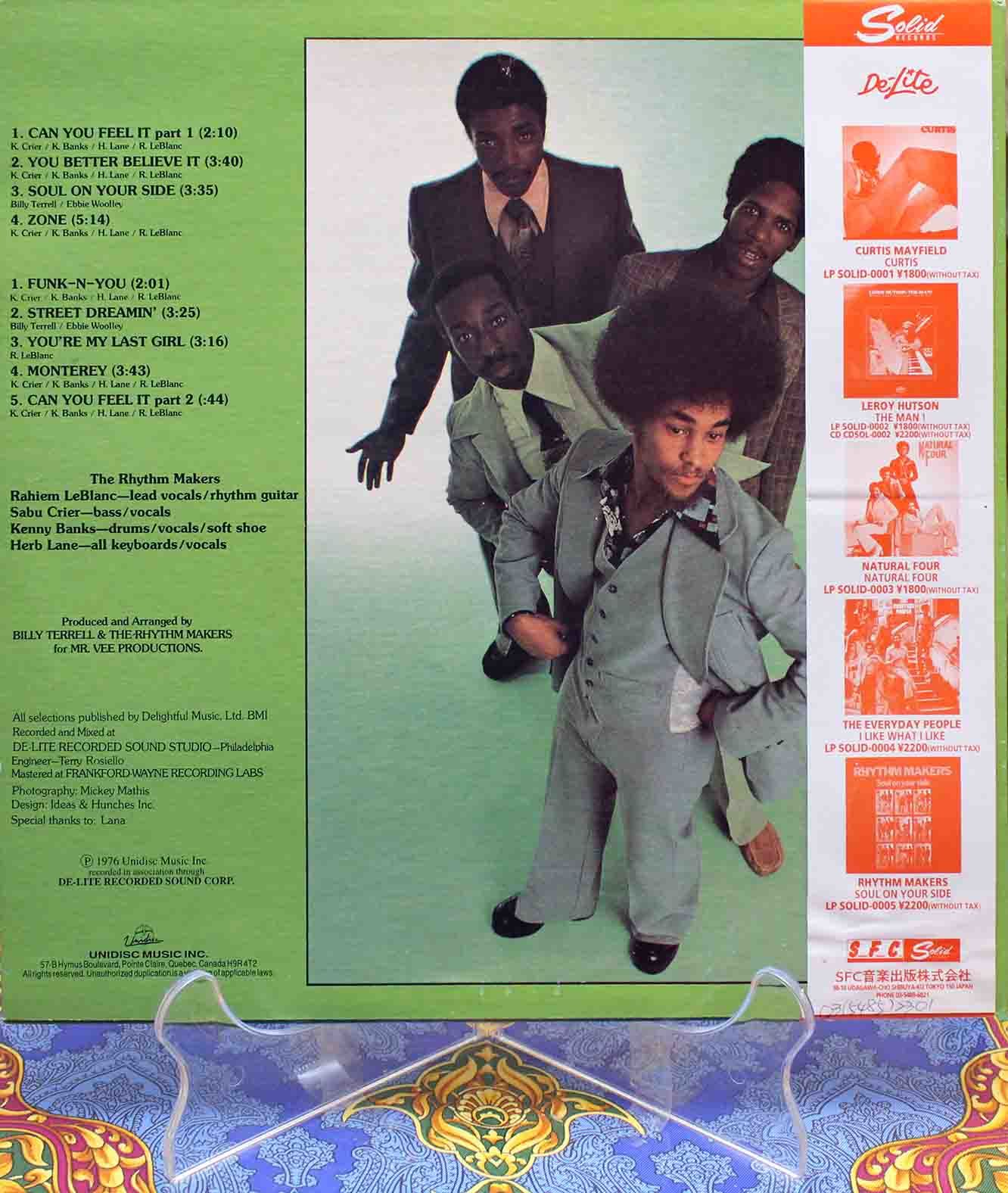 Rhythm Makers – Soul On Your Side LP 02