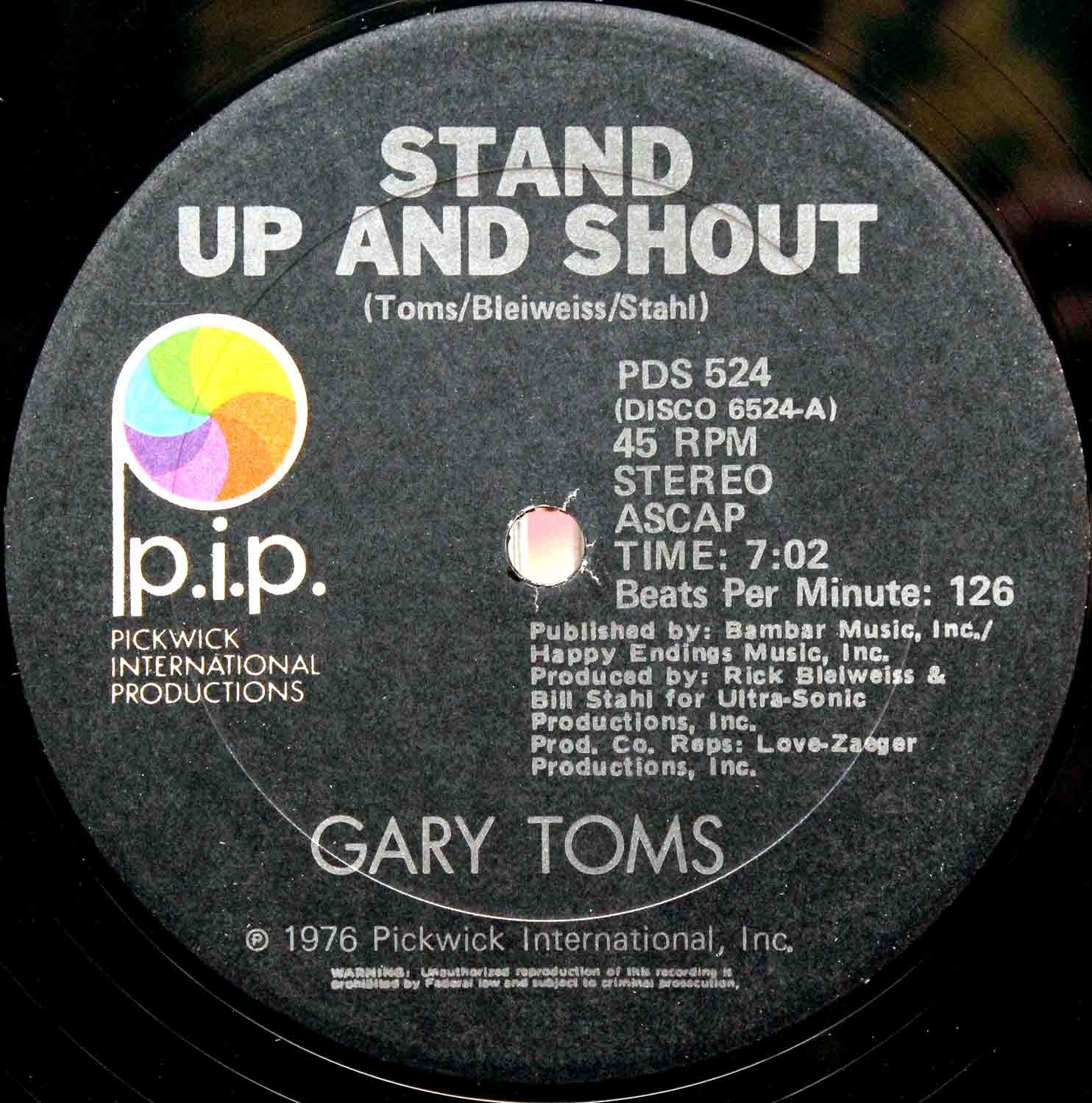 Gary Toms – Stand Up And Shout 03