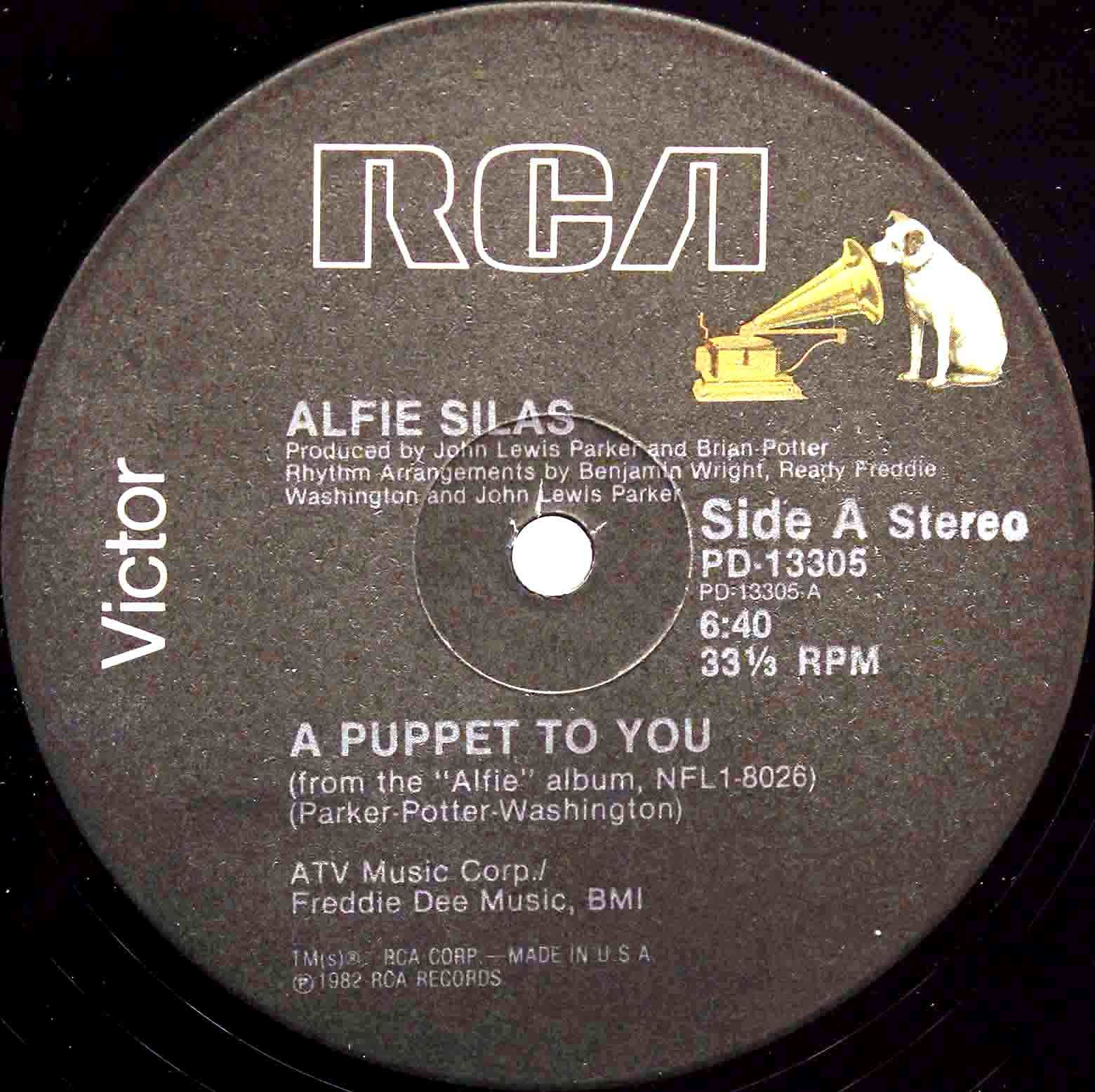 Alfie Silas ‎– A Puppet To You 03