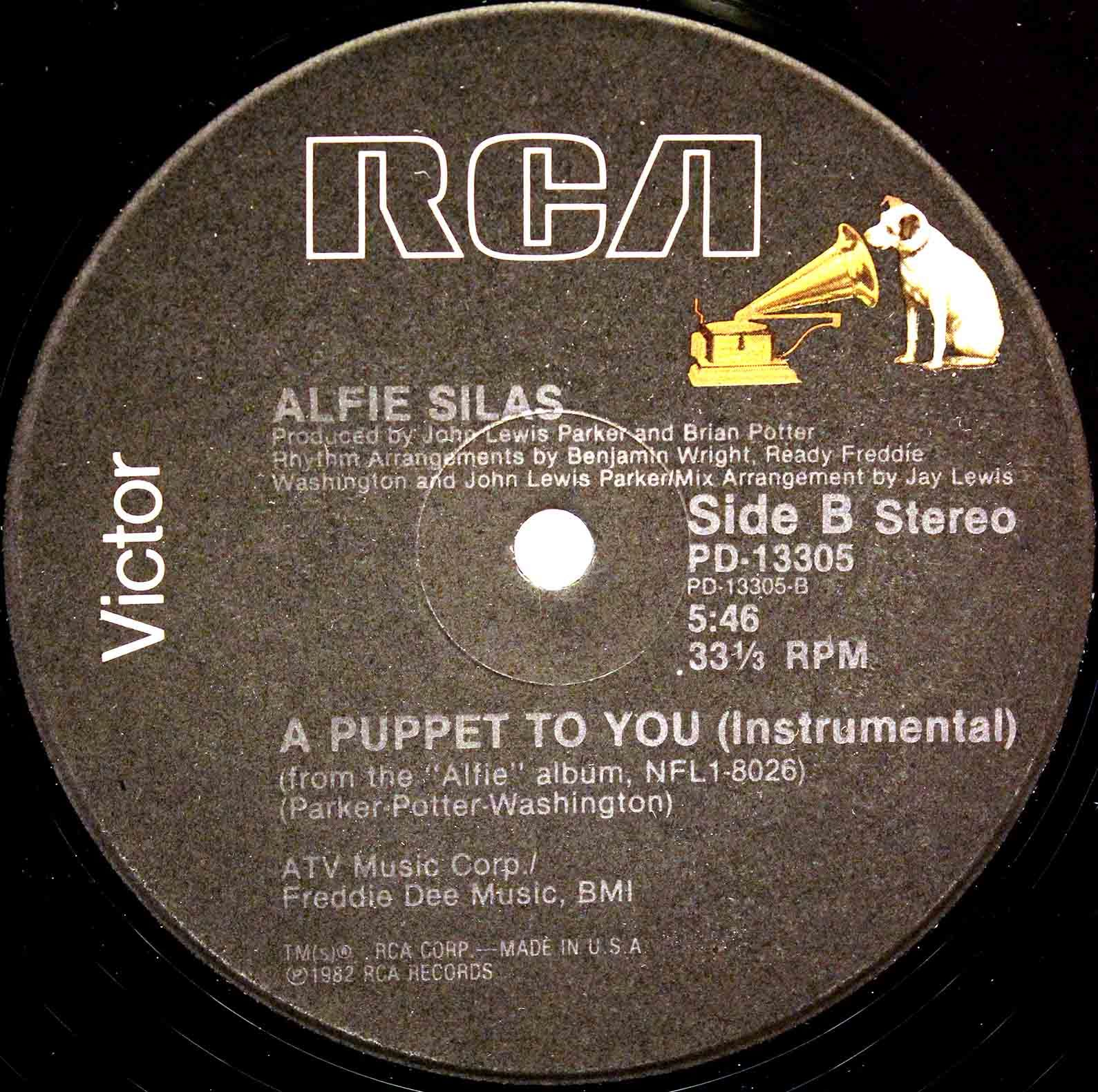 Alfie Silas ‎– A Puppet To You 04