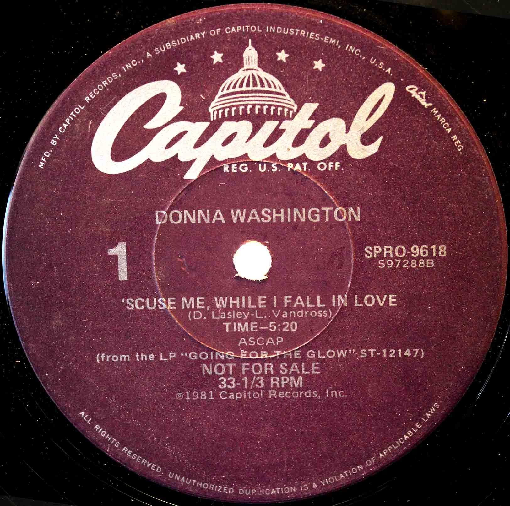 Donna Washington – Scuse Me, While I Fall In Love 03