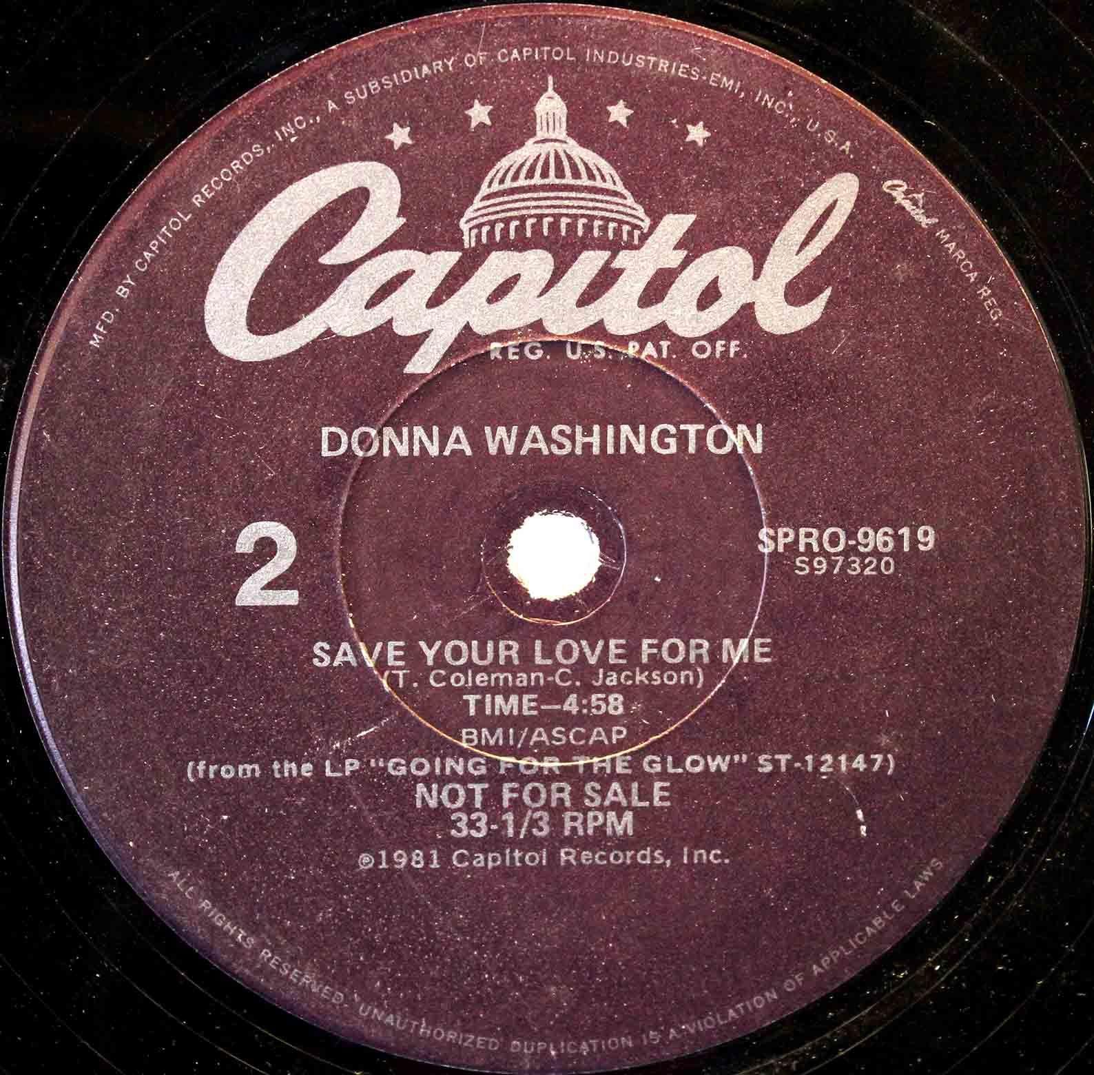 Donna Washington – Scuse Me, While I Fall In Love 04