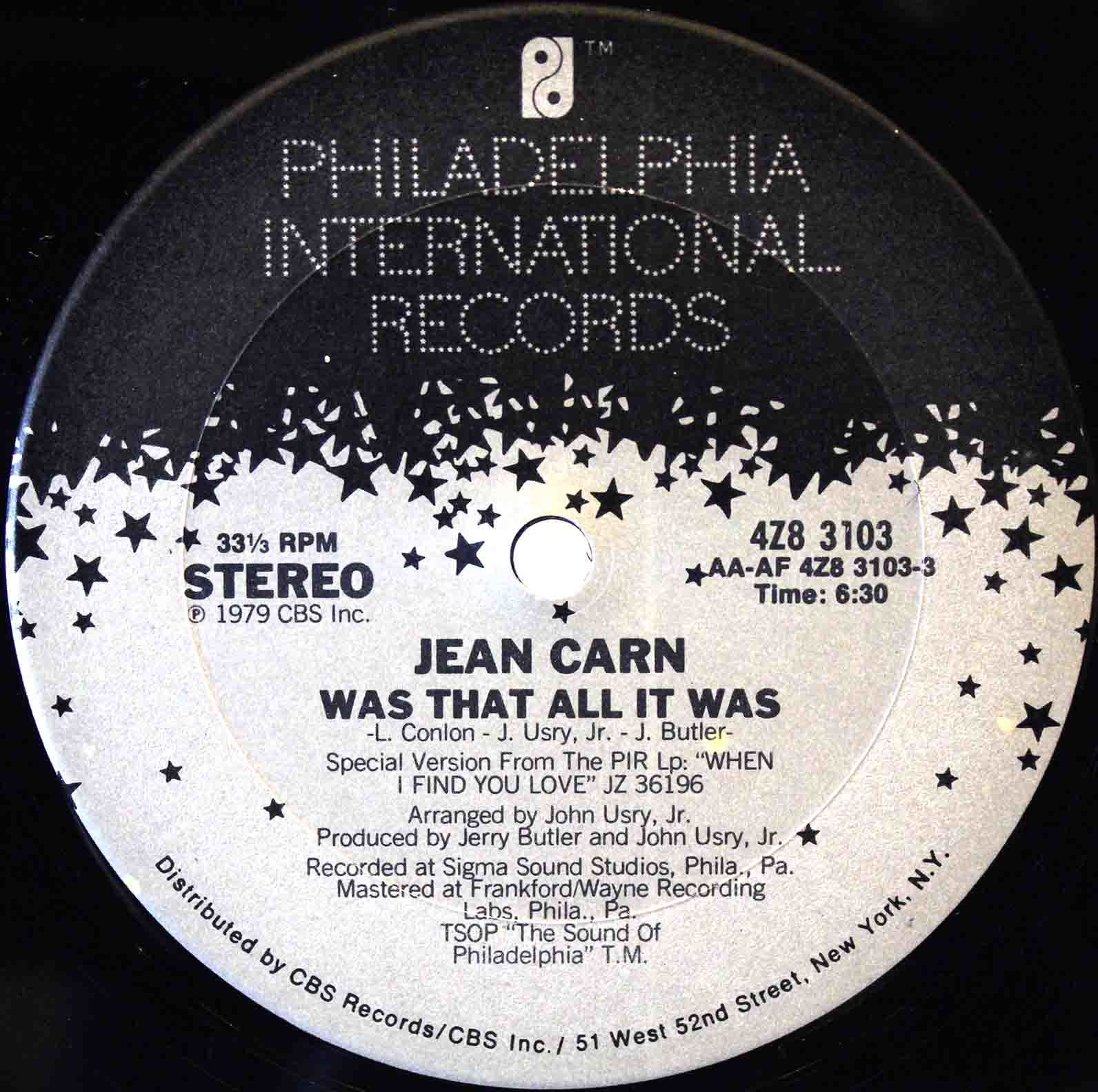 Jean Carn ‎- Was That All It Was 03