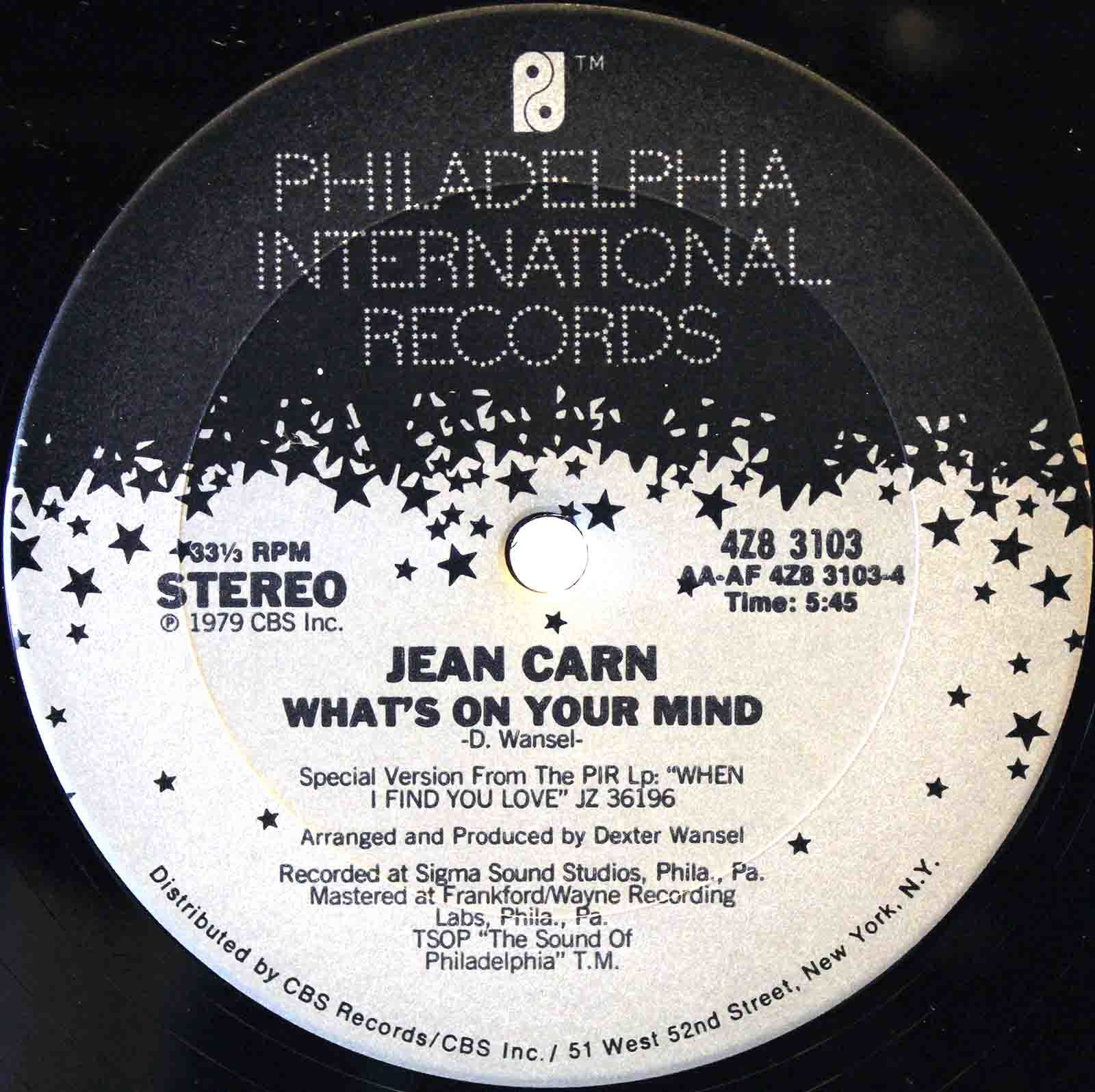 Jean Carn ‎- Was That All It Was 04