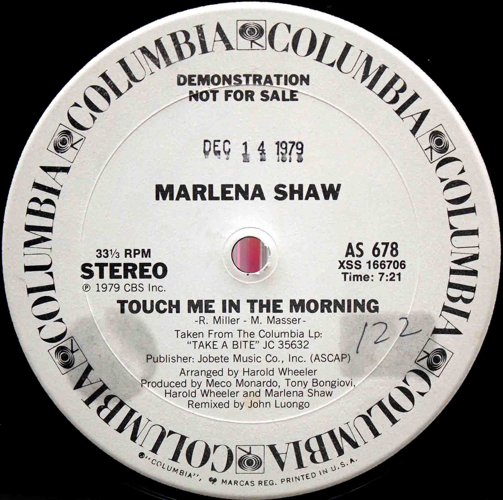 Marlena Shaw ‎– Touch Me In The Morning 03