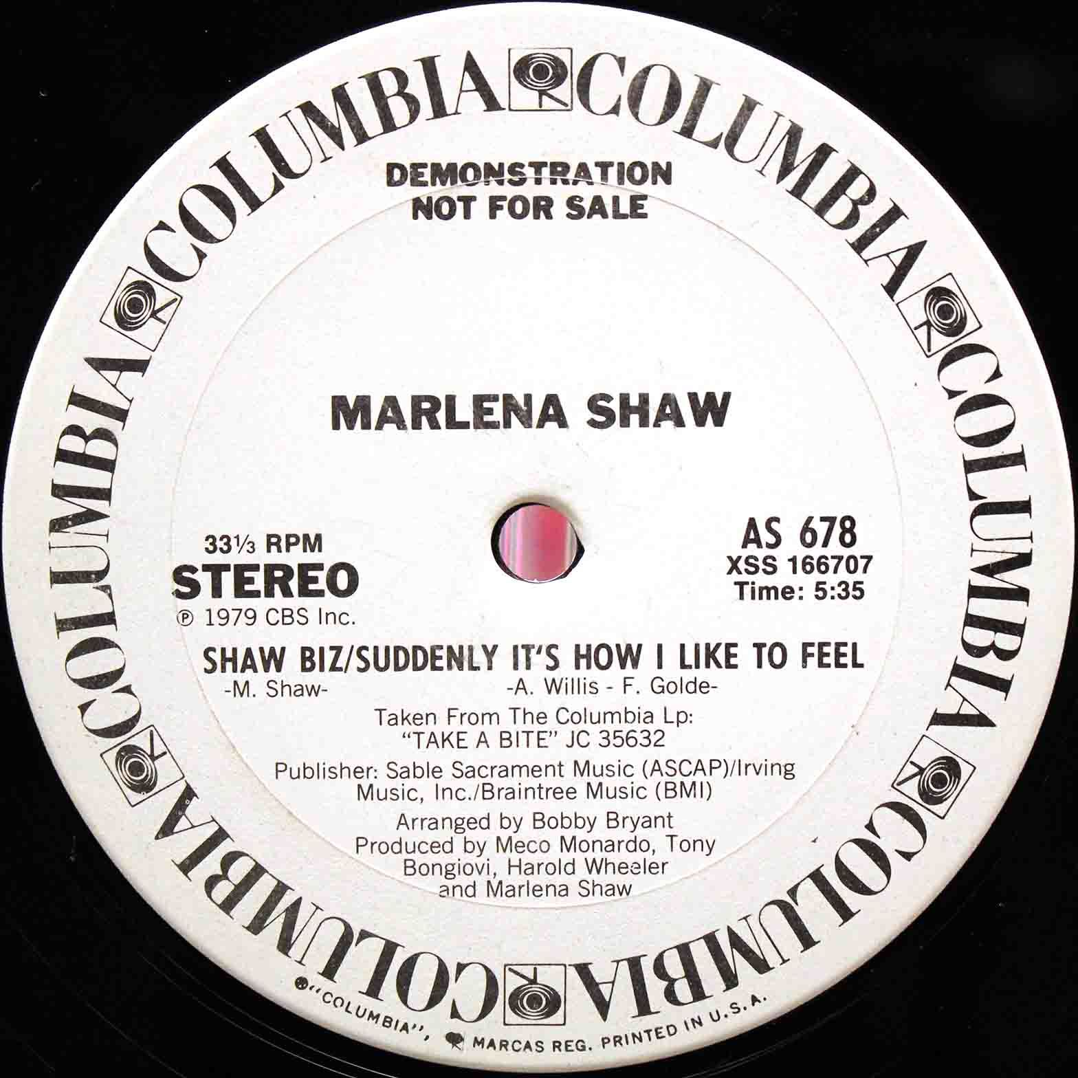 Marlena Shaw ‎– Touch Me In The Morning 04