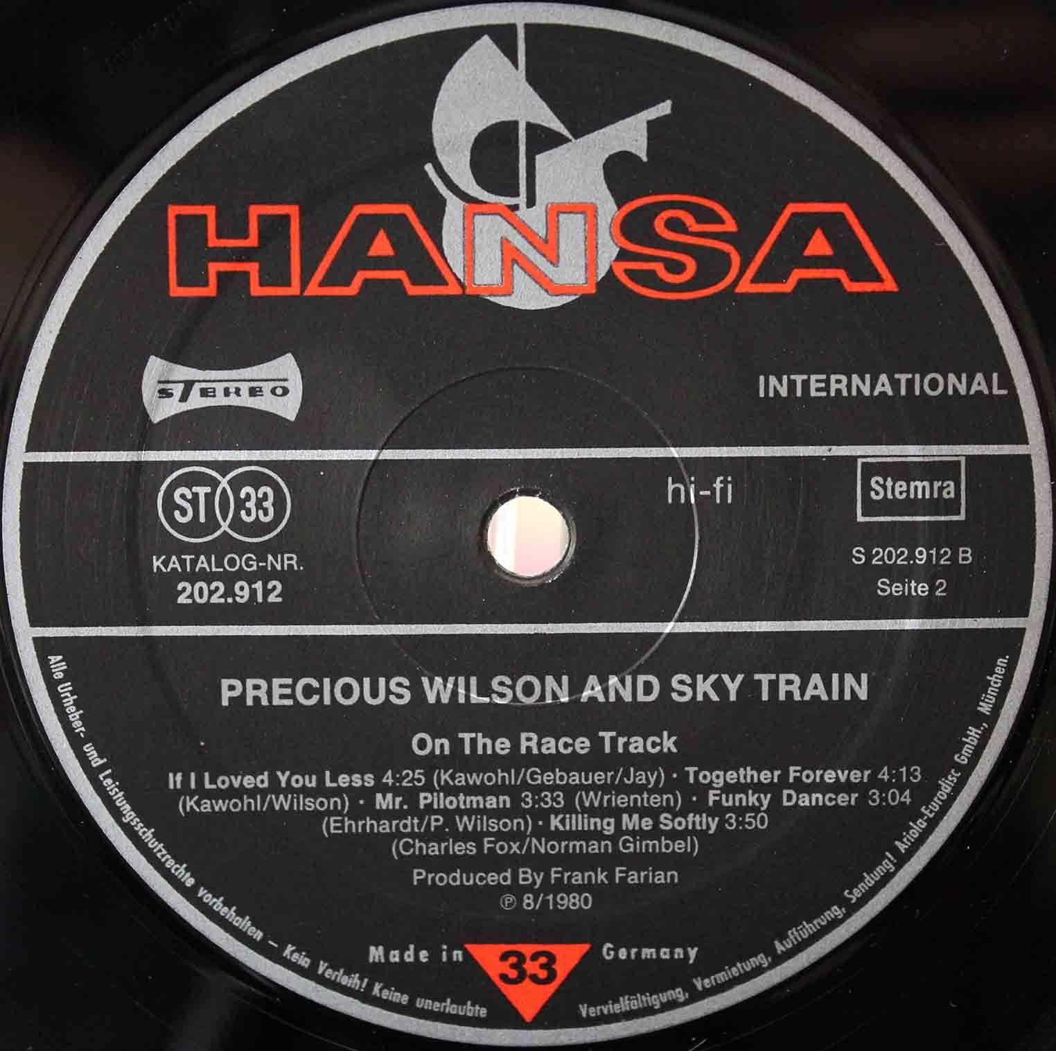 Precious Wilson – On The Race Track 08