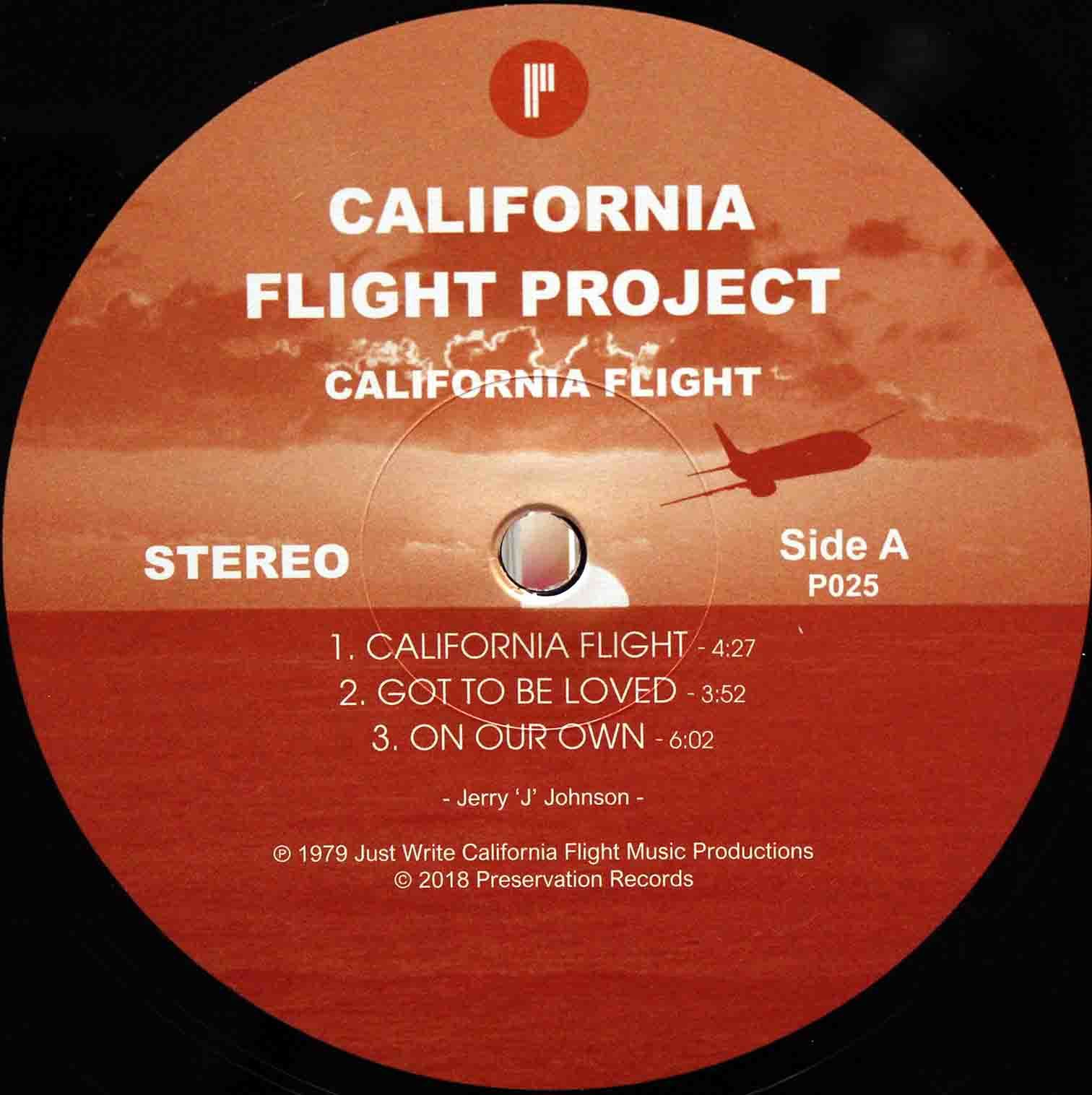 California Flight Project 03