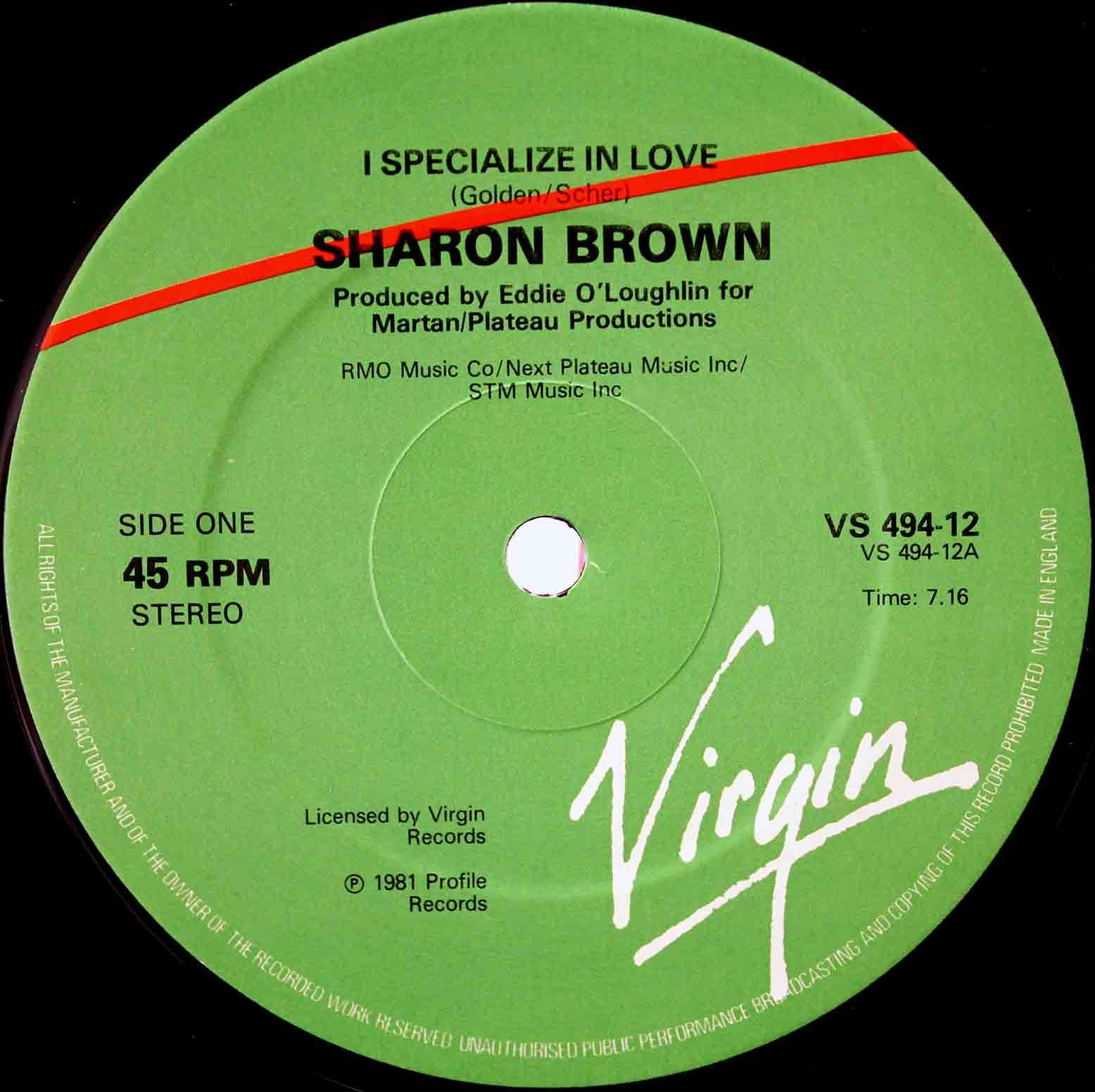 Sharon Brown – I Specialize In Love 03