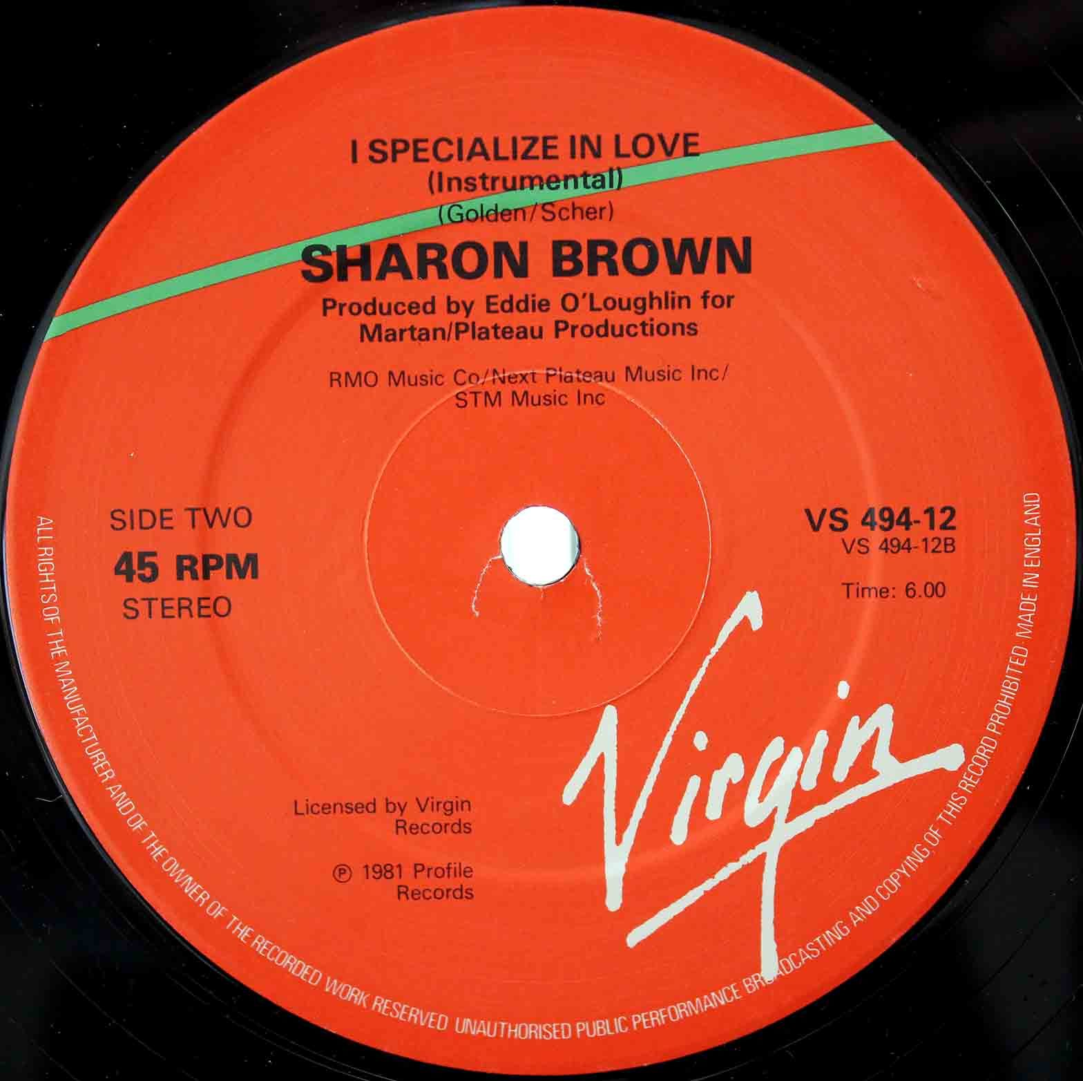 Sharon Brown – I Specialize In Love 04