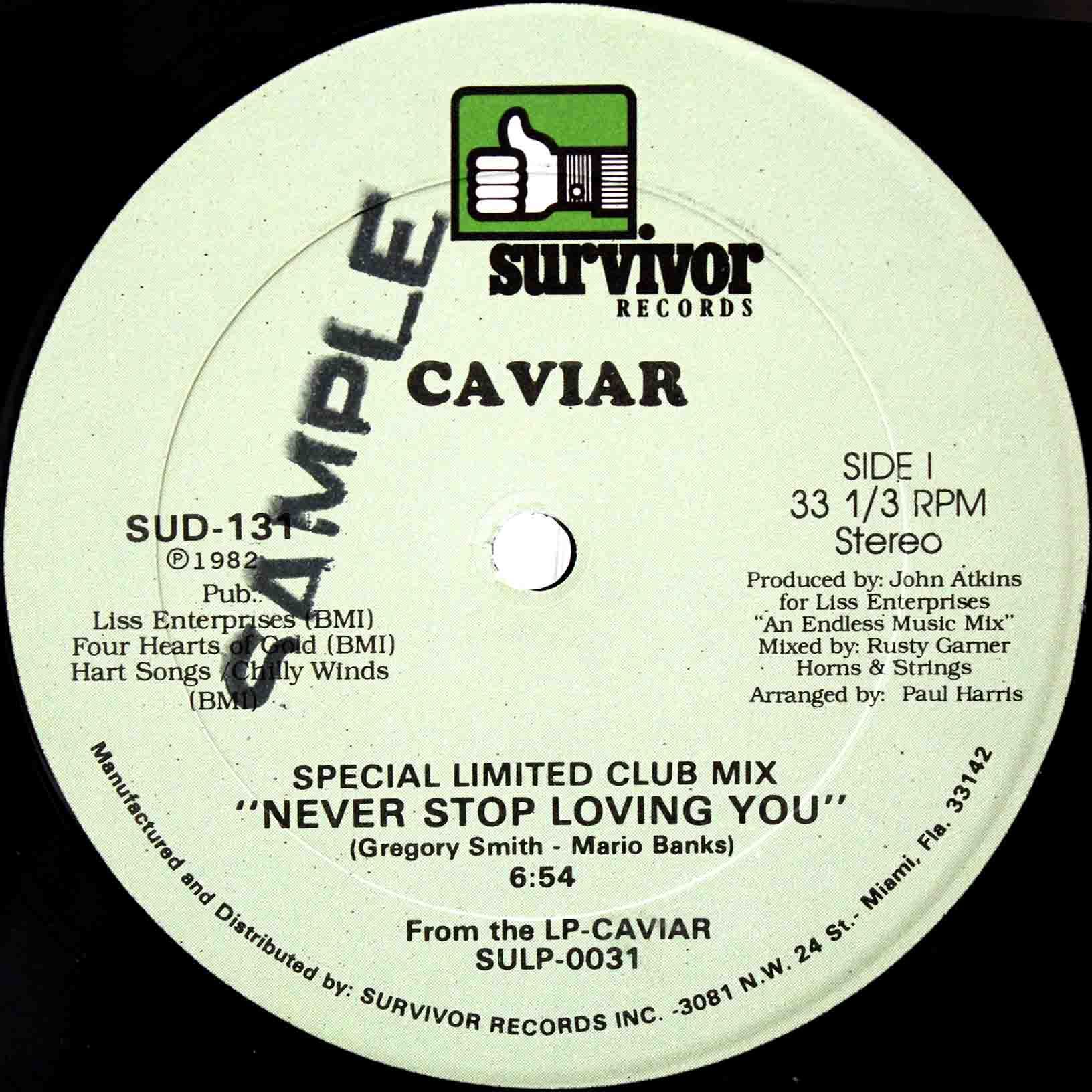Caviar Never Stop Loving You 03
