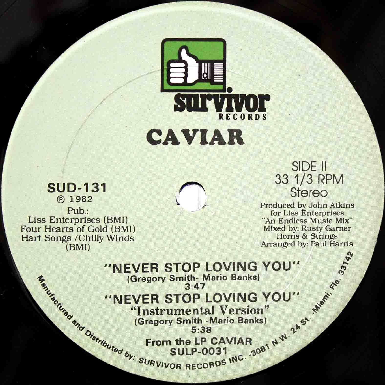 Caviar Never Stop Loving You 04