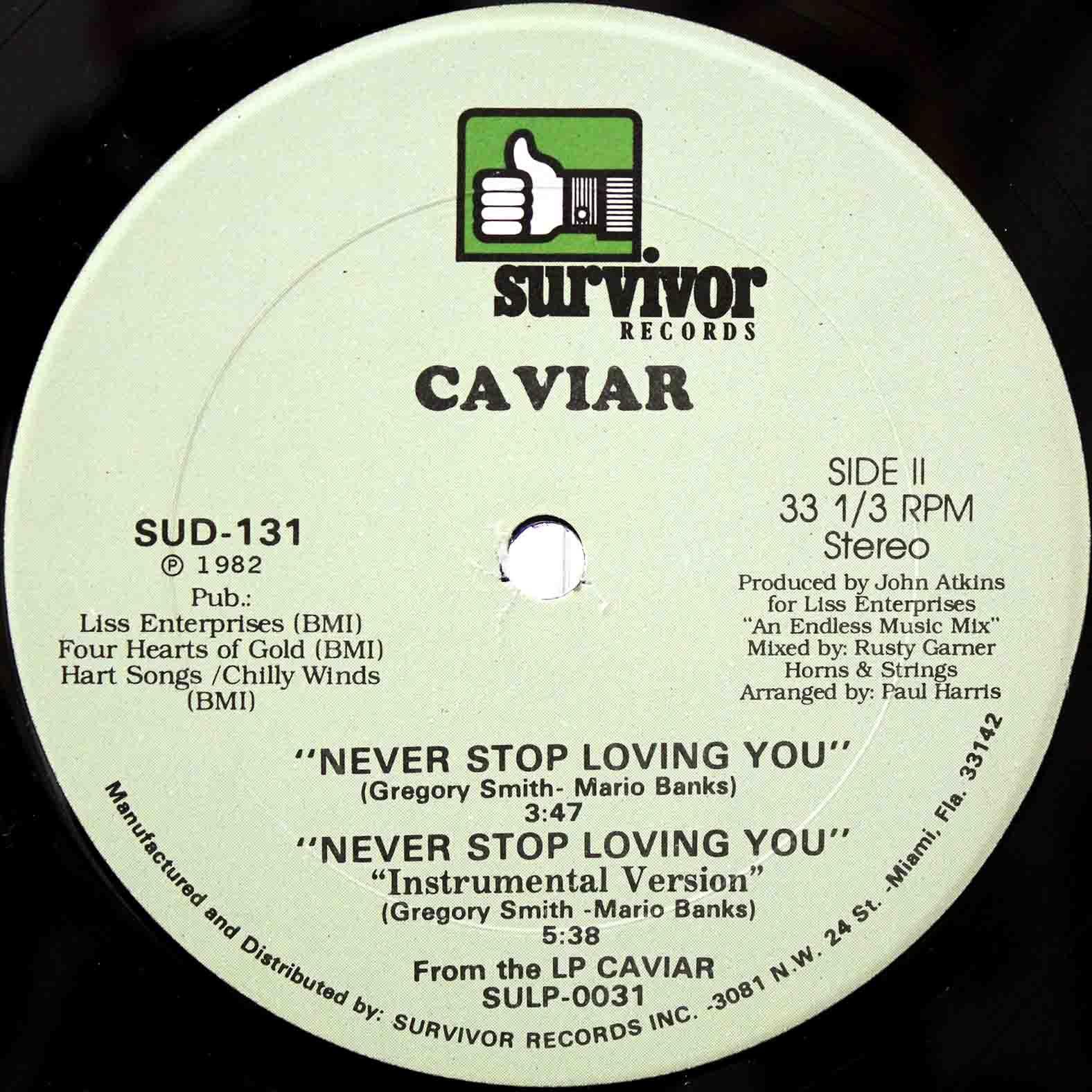 Caviar Never Stop Loving You 04