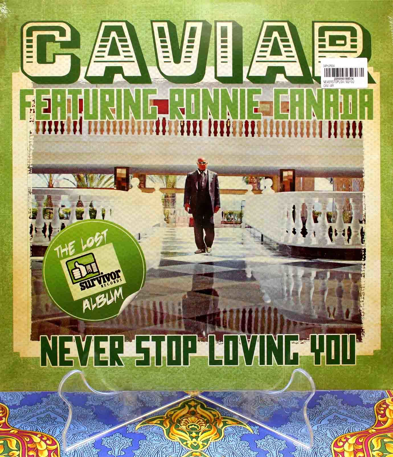 Caviar Never Stop Loving You LP 01