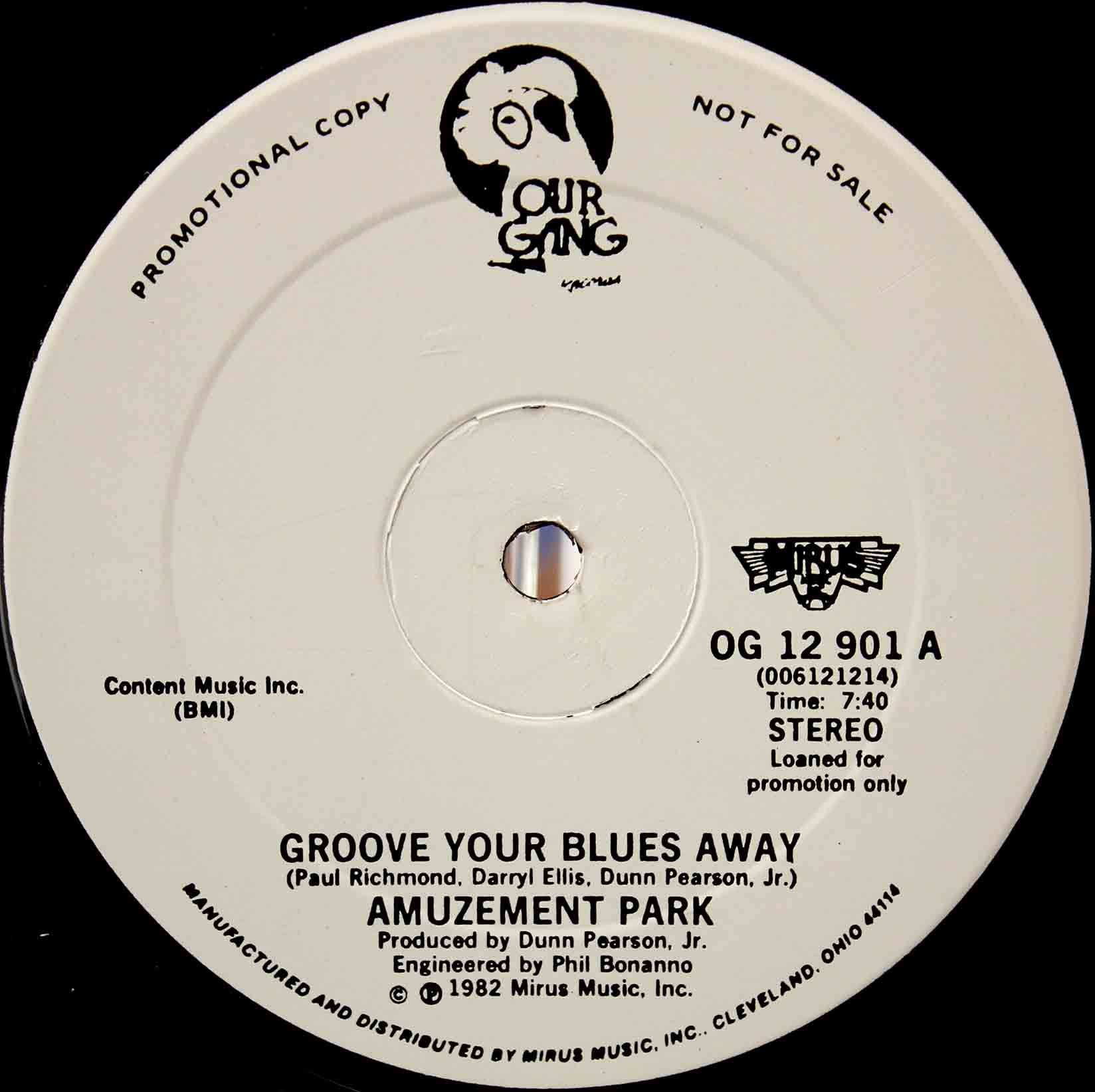 Amuzement Park ‎– Groove Your Blues Away 03