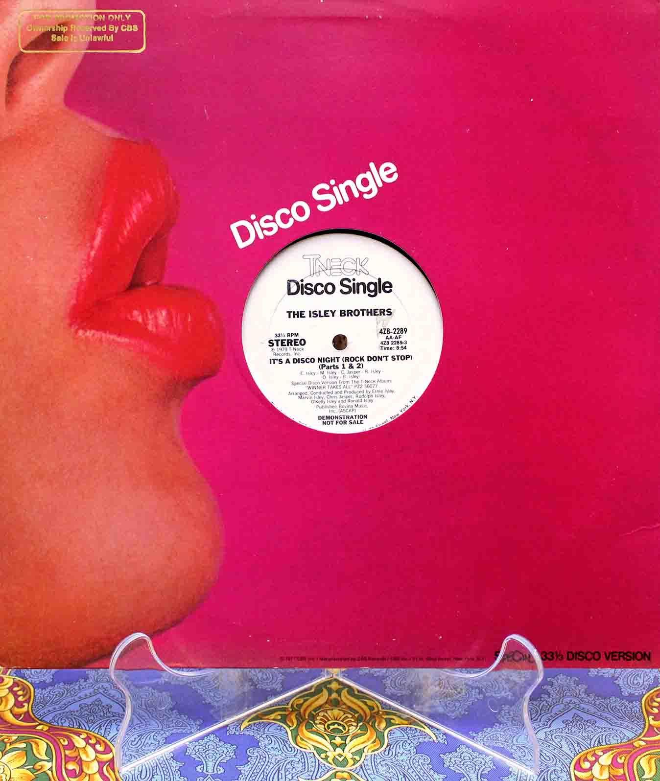 The Isley Bros It`s A Disco Night 01