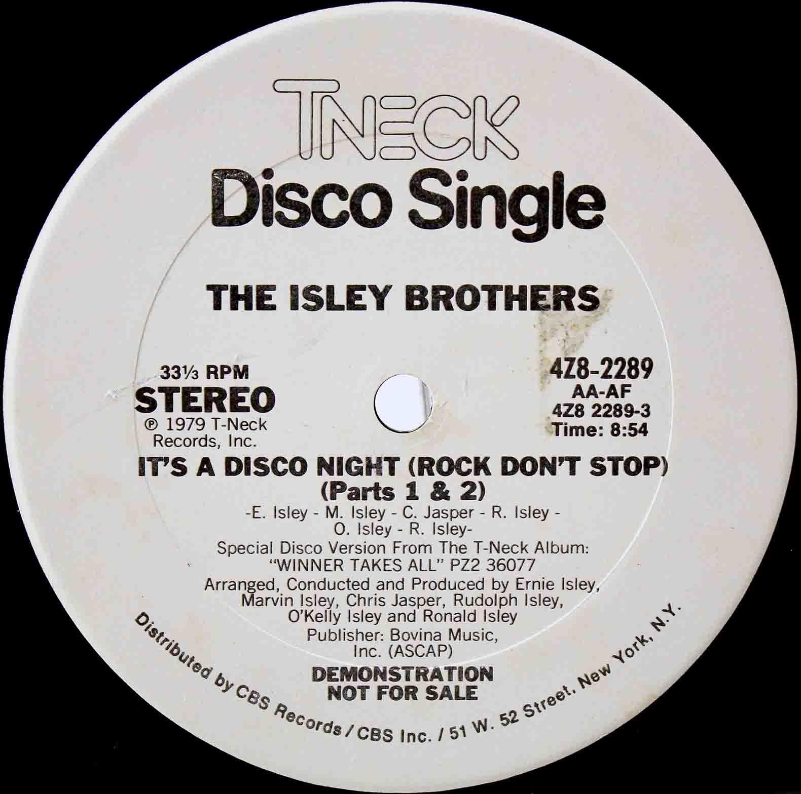 The Isley Bros It`s A Disco Night 03