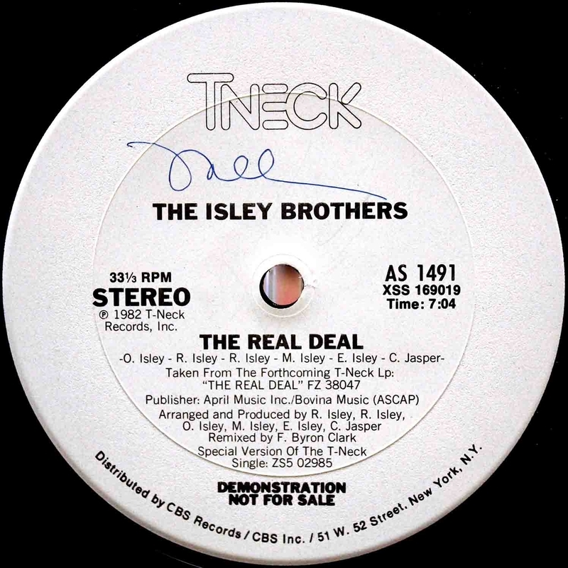 The Isley Brothers The Real Deal 12 03