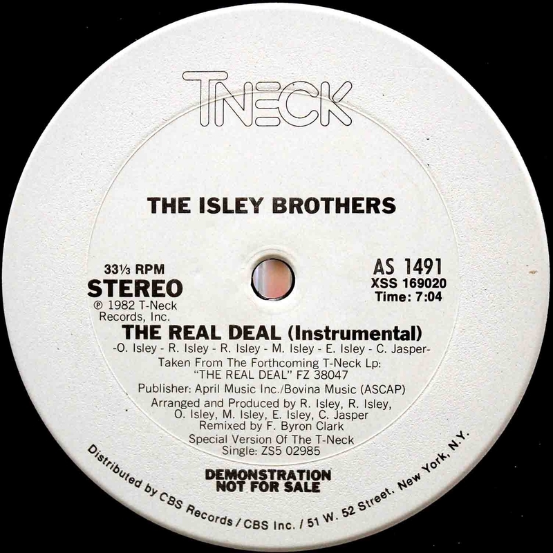 The Isley Brothers The Real Deal 12 04