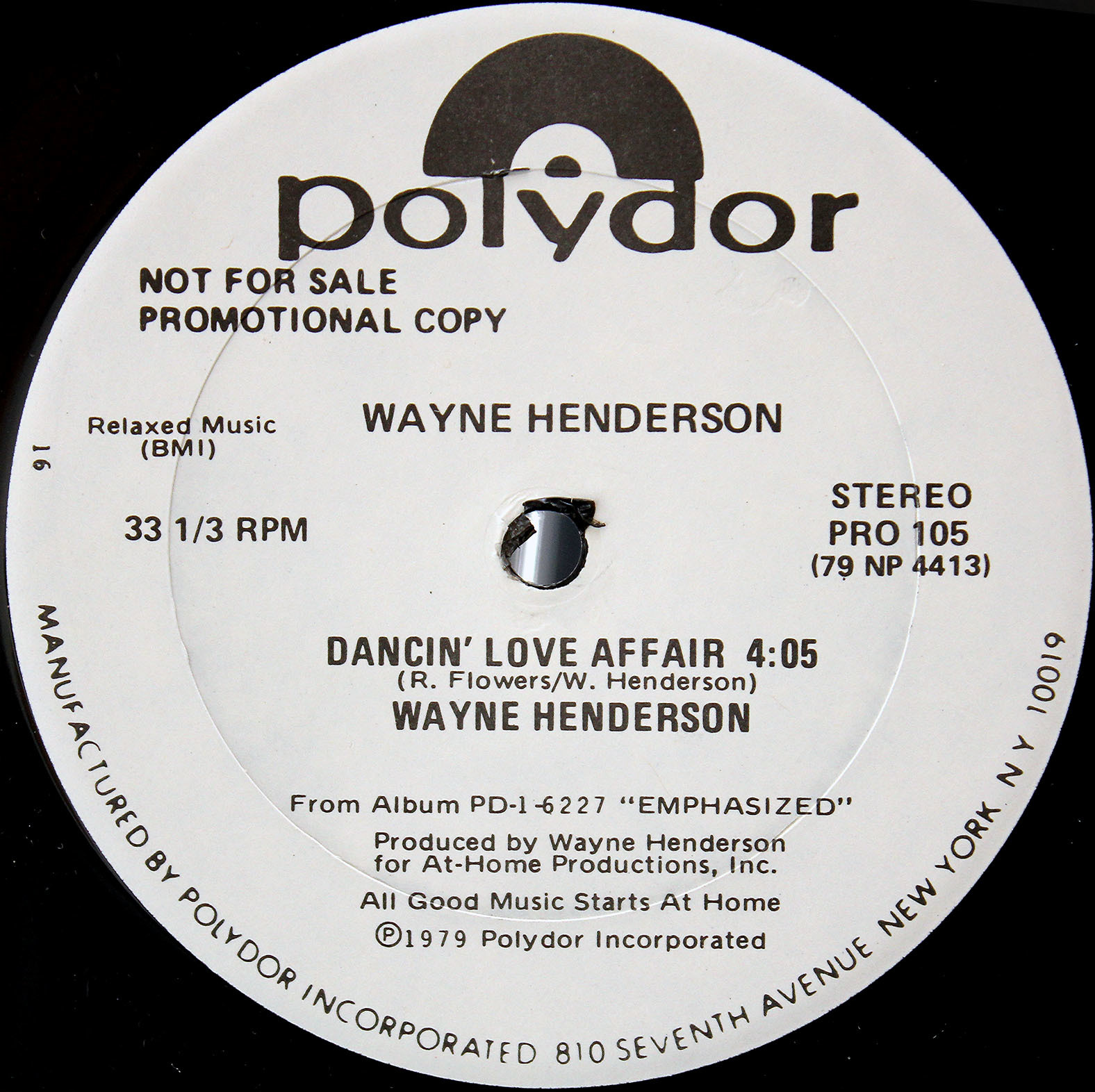 Wayne Henderson Dancin Love Affair 02
