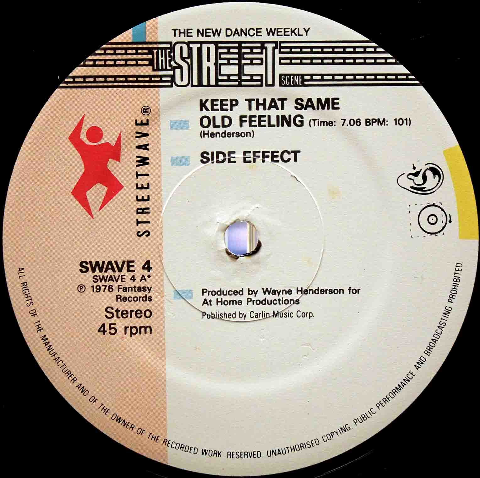 Side Effect ‎– Keep That Same Old Feeling 02