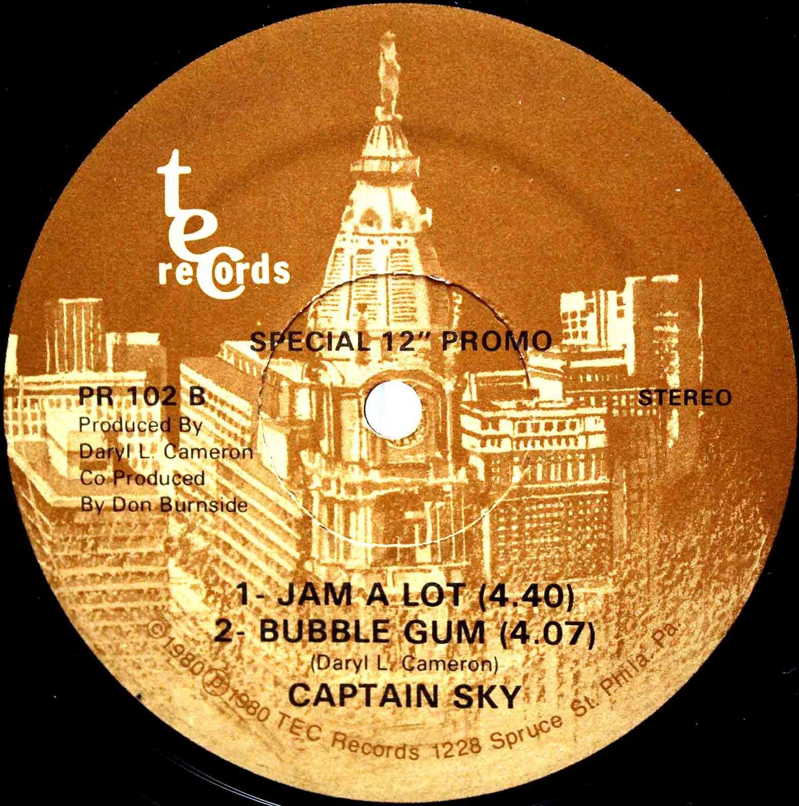 Captain Sky - Jam A Lot Bubble Gum 02