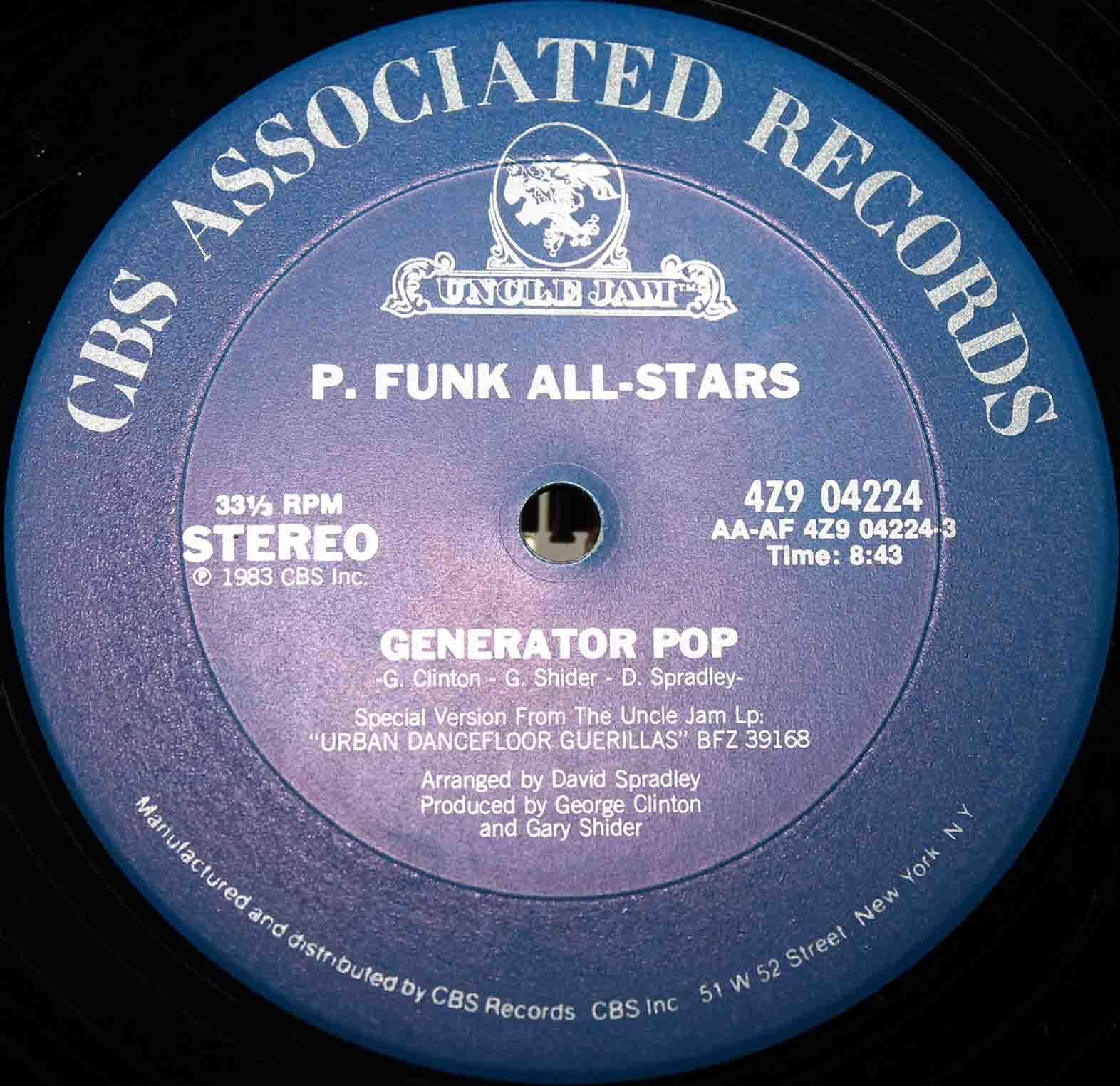 P Funk All Stars – Generator Pop 03