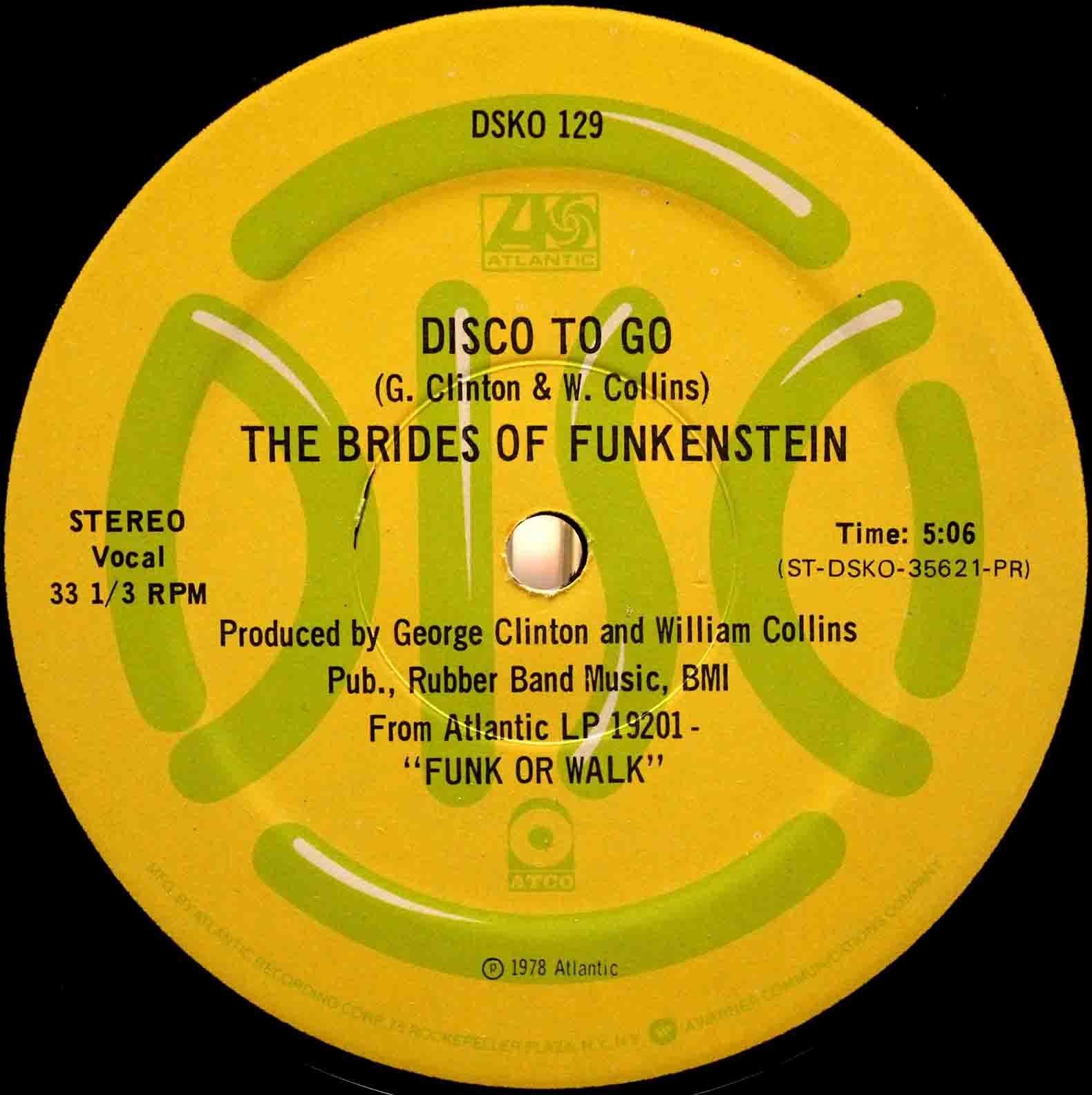 Brides Of Funkenstein ‎– Disco To Go 03