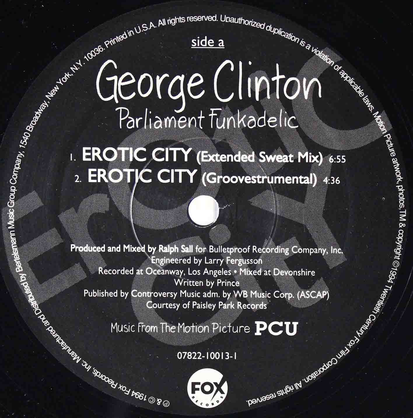 George Clinton Parliament Funkadelic - Erotic City 03