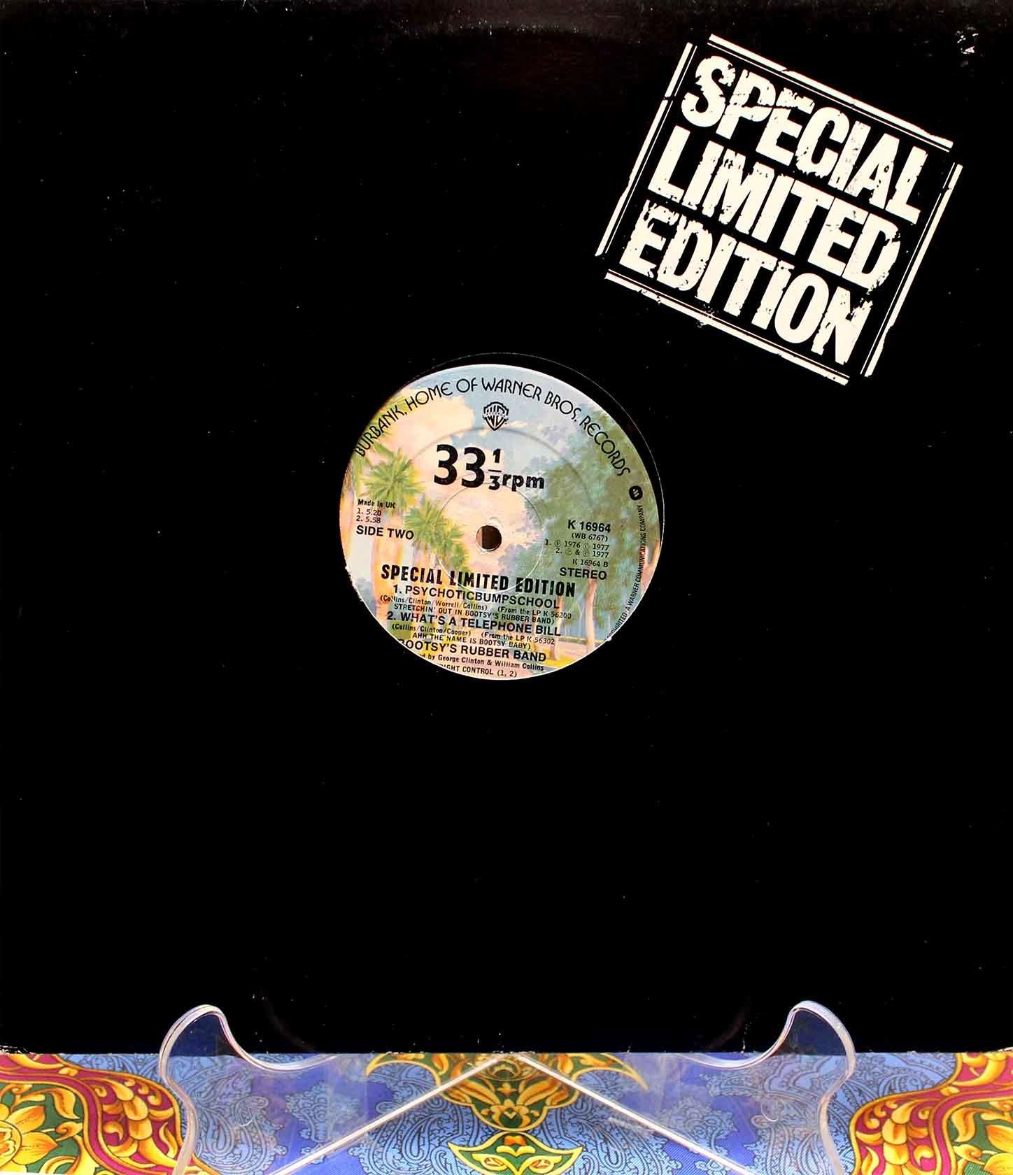 Bootsys Rubber Band – Psychoticbumpschool 01