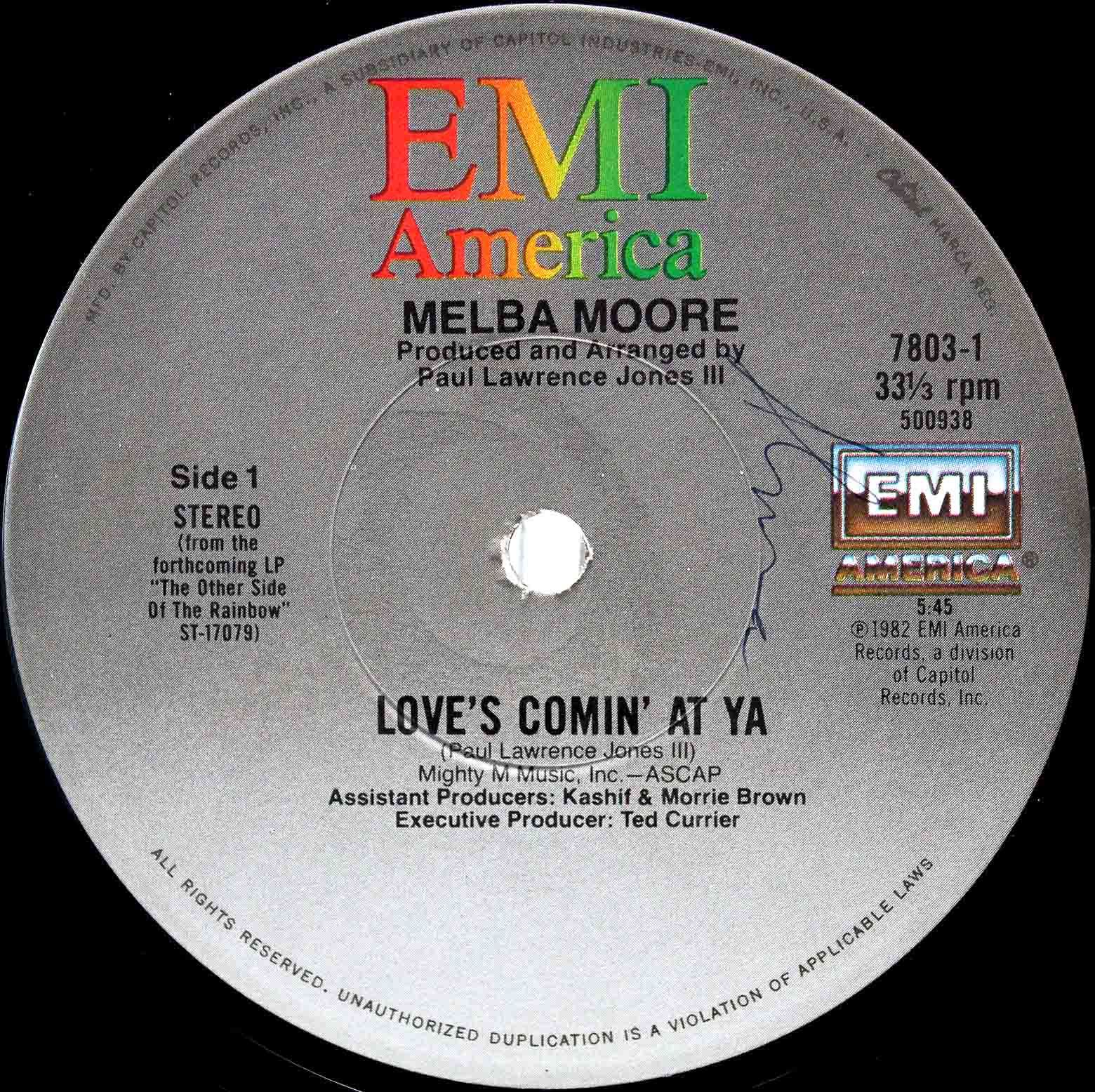 Melba Moore ‎– Loves Comin At Ya 03