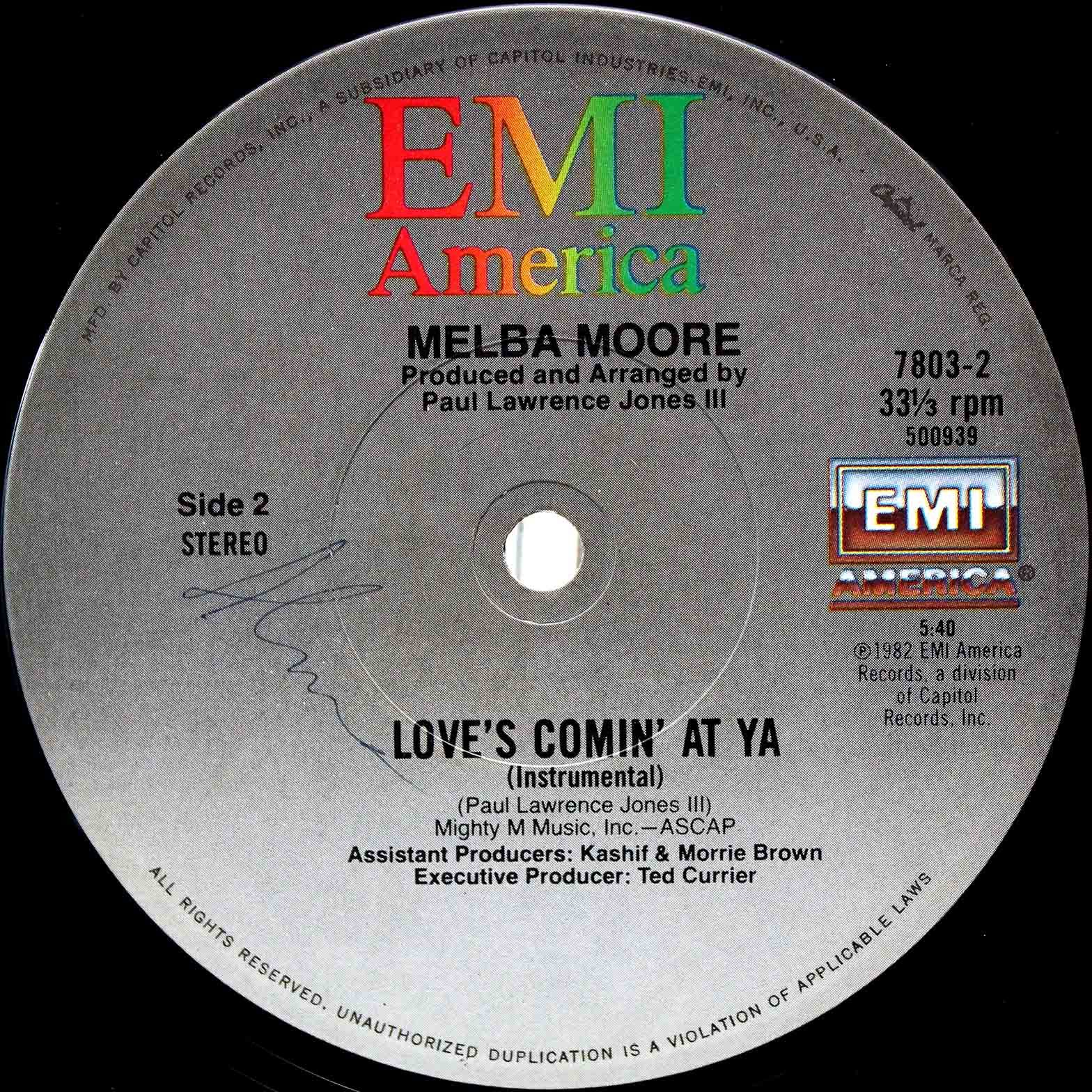 Melba Moore ‎– Loves Comin At Ya 04