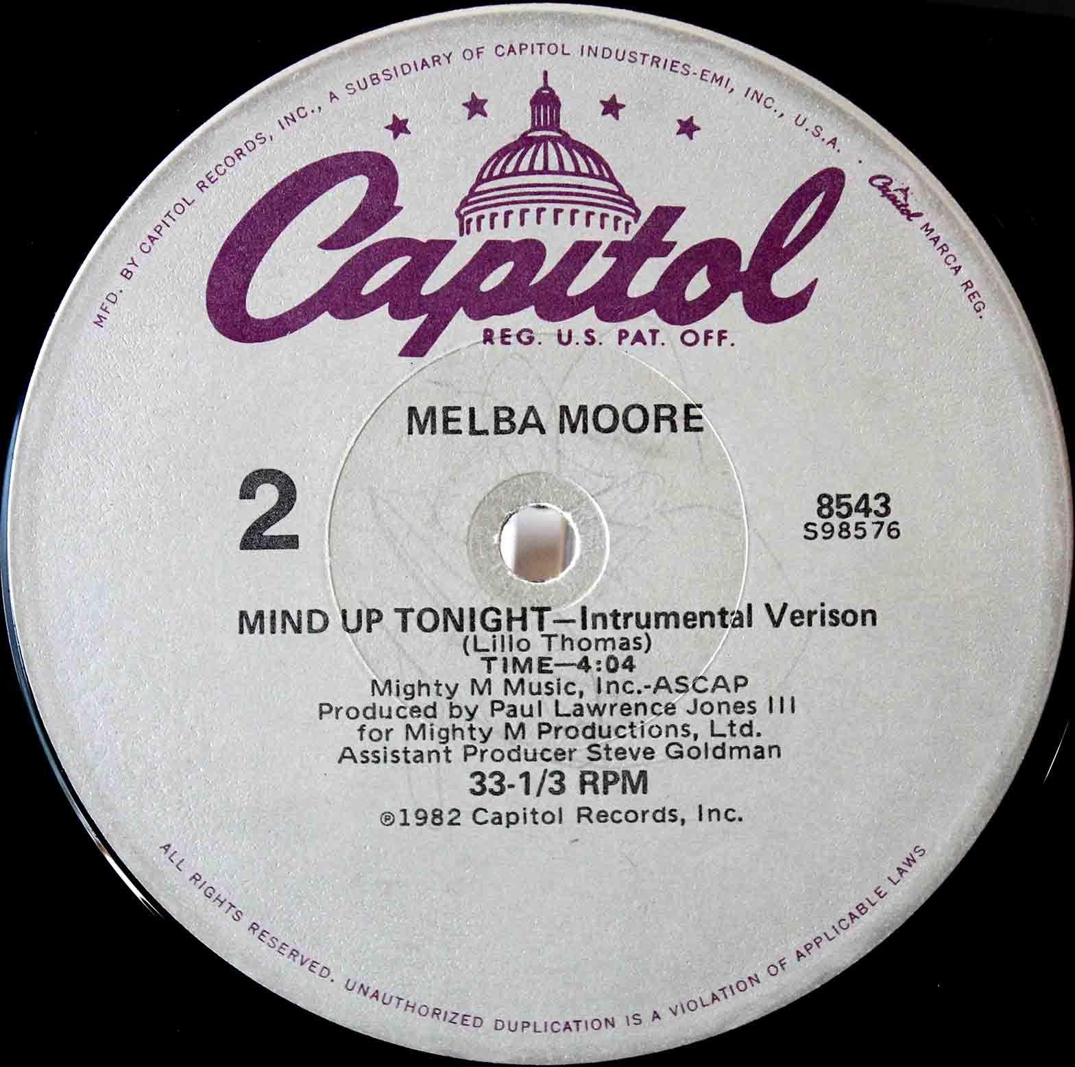 Melba Moore - Mind Up Tonight 04