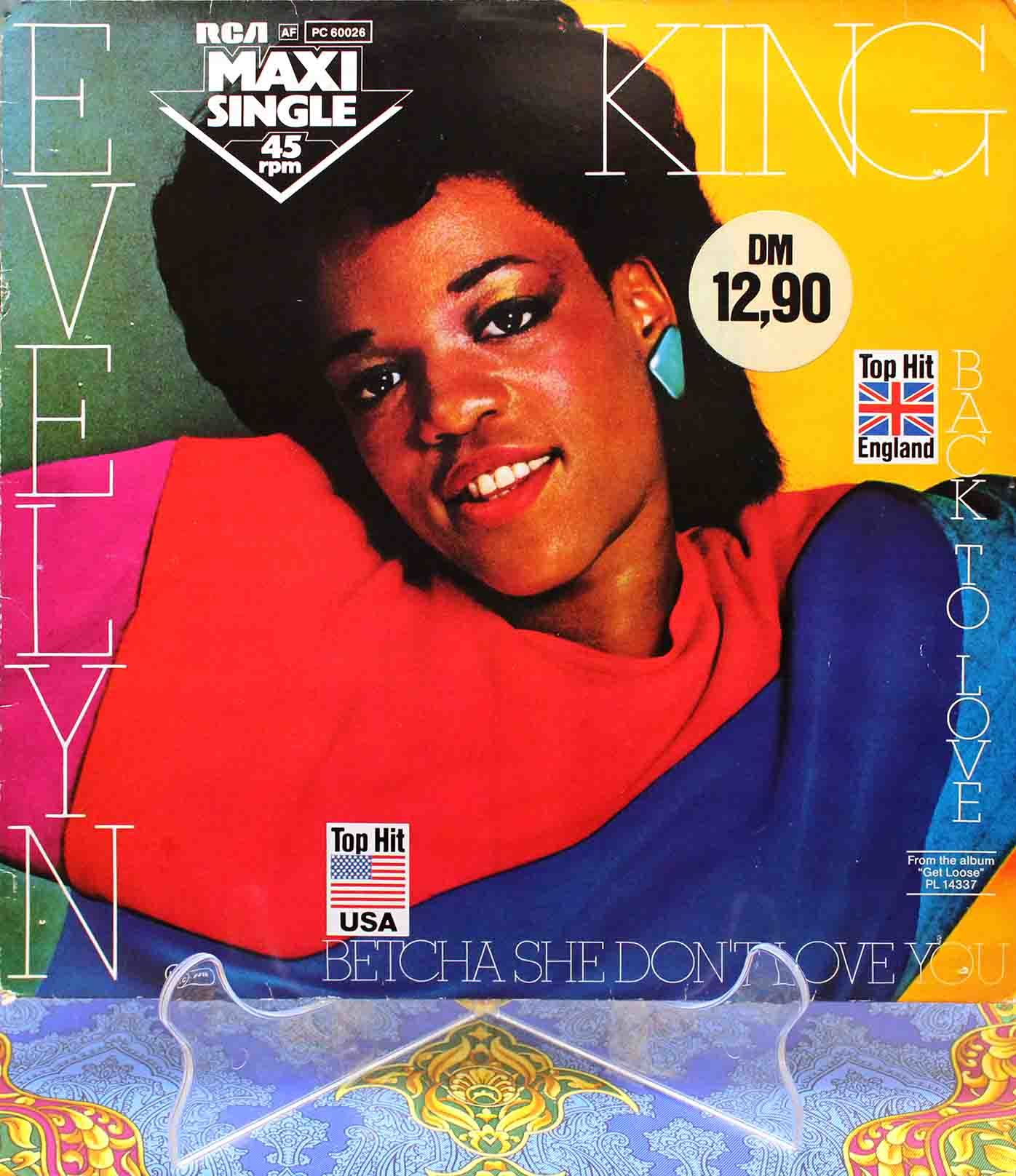 Evelyn King ‎– Betcha She Dont Love You 01