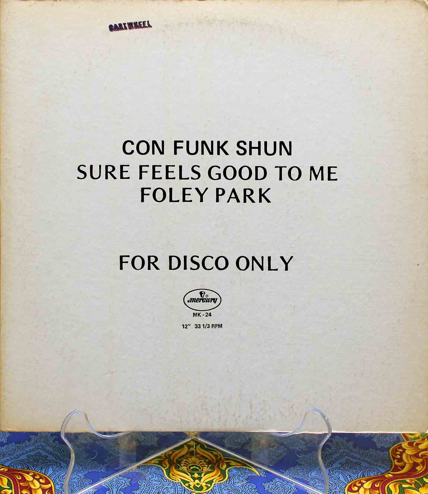 Con Funk Shun - Sure Feels Good To Me Foley Park 01