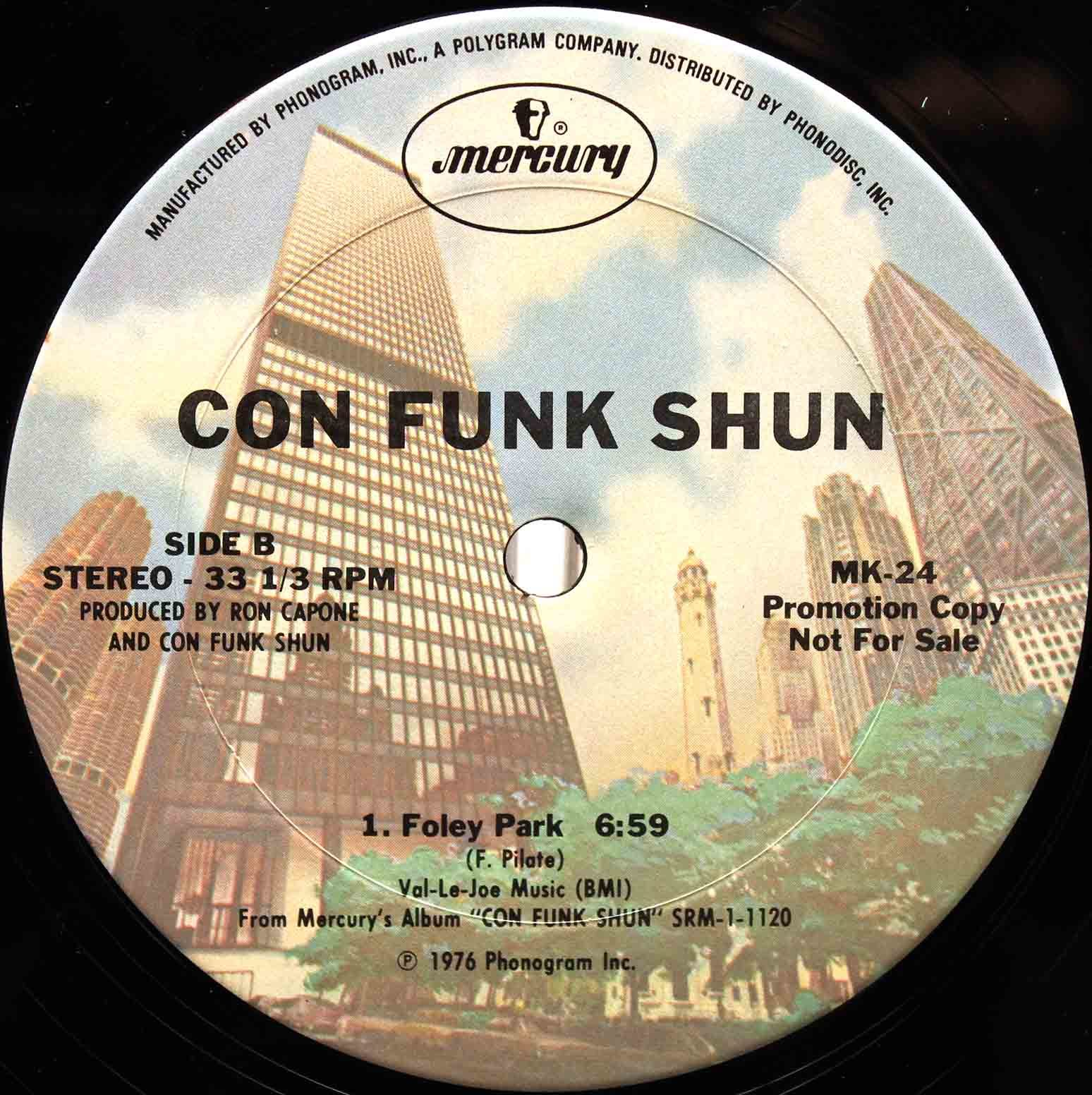 Con Funk Shun - Sure Feels Good To Me Foley Park 05