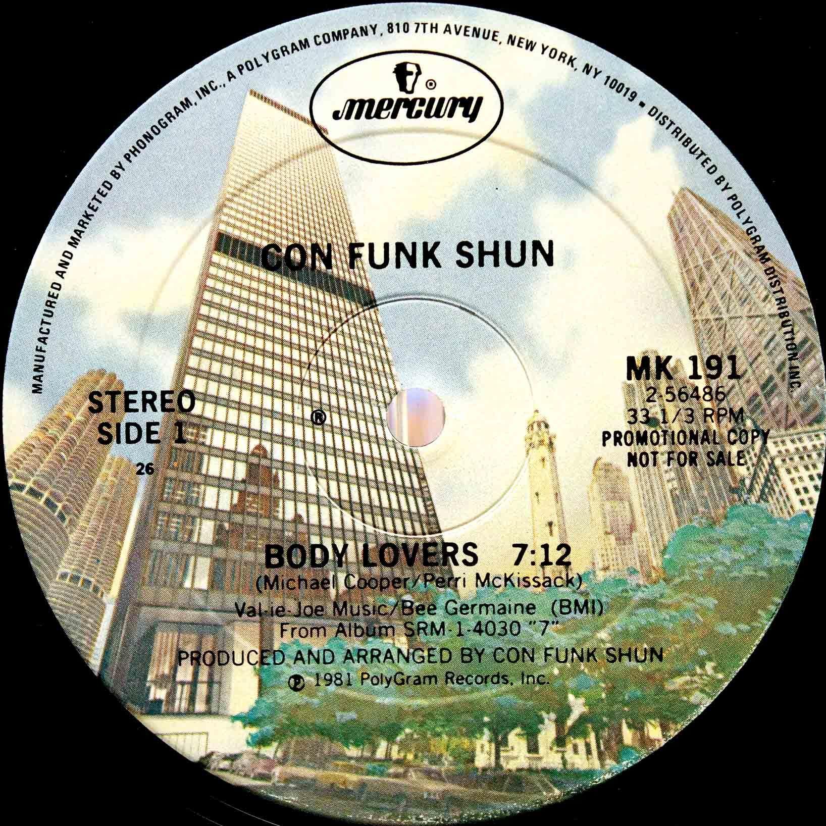 Con Funk Shun – Body Lovers 02