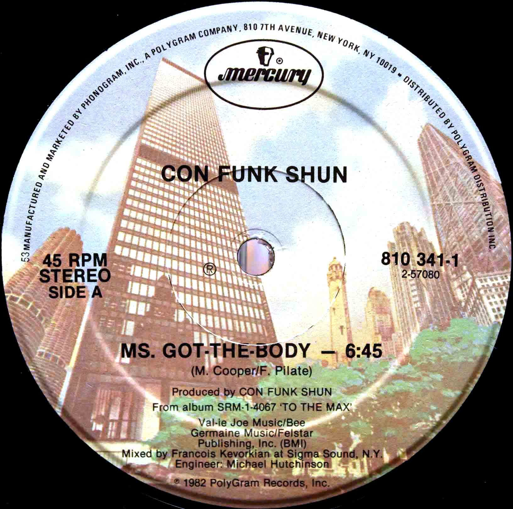 Con Funk Shun ‎– Ms Got The Body 03