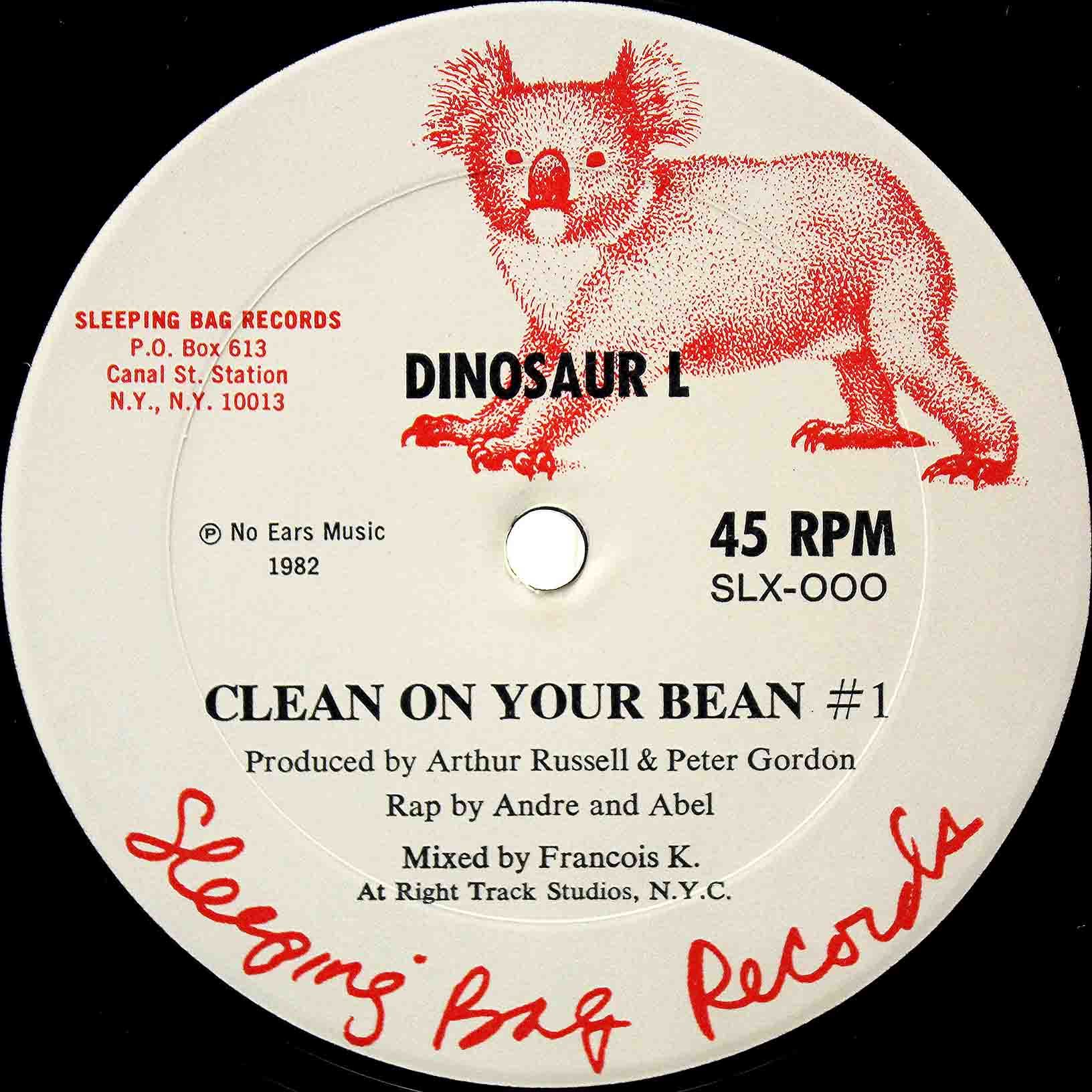 Dinosaur L ‎– Clean On Your Bean 02