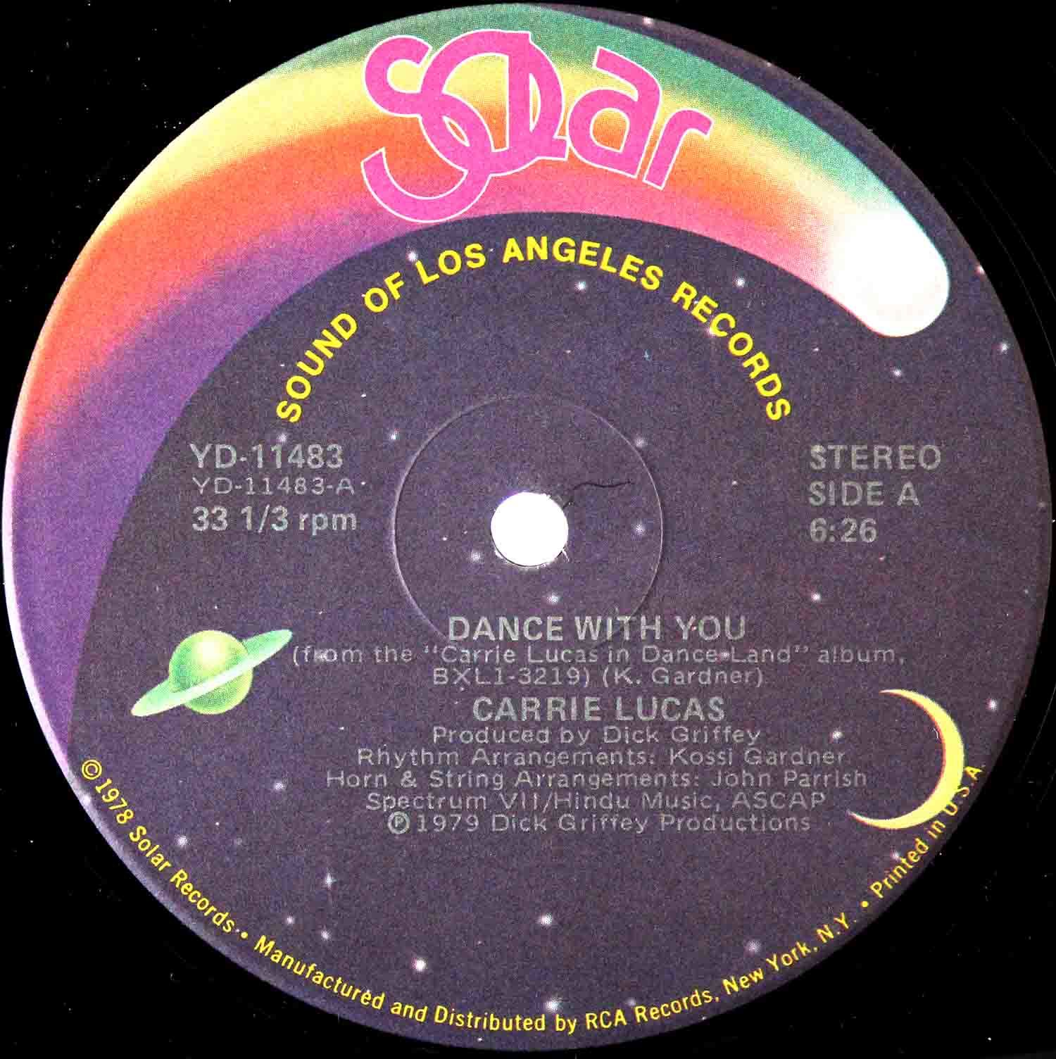 Carrie Lucas ‎– Dance With You 12 03