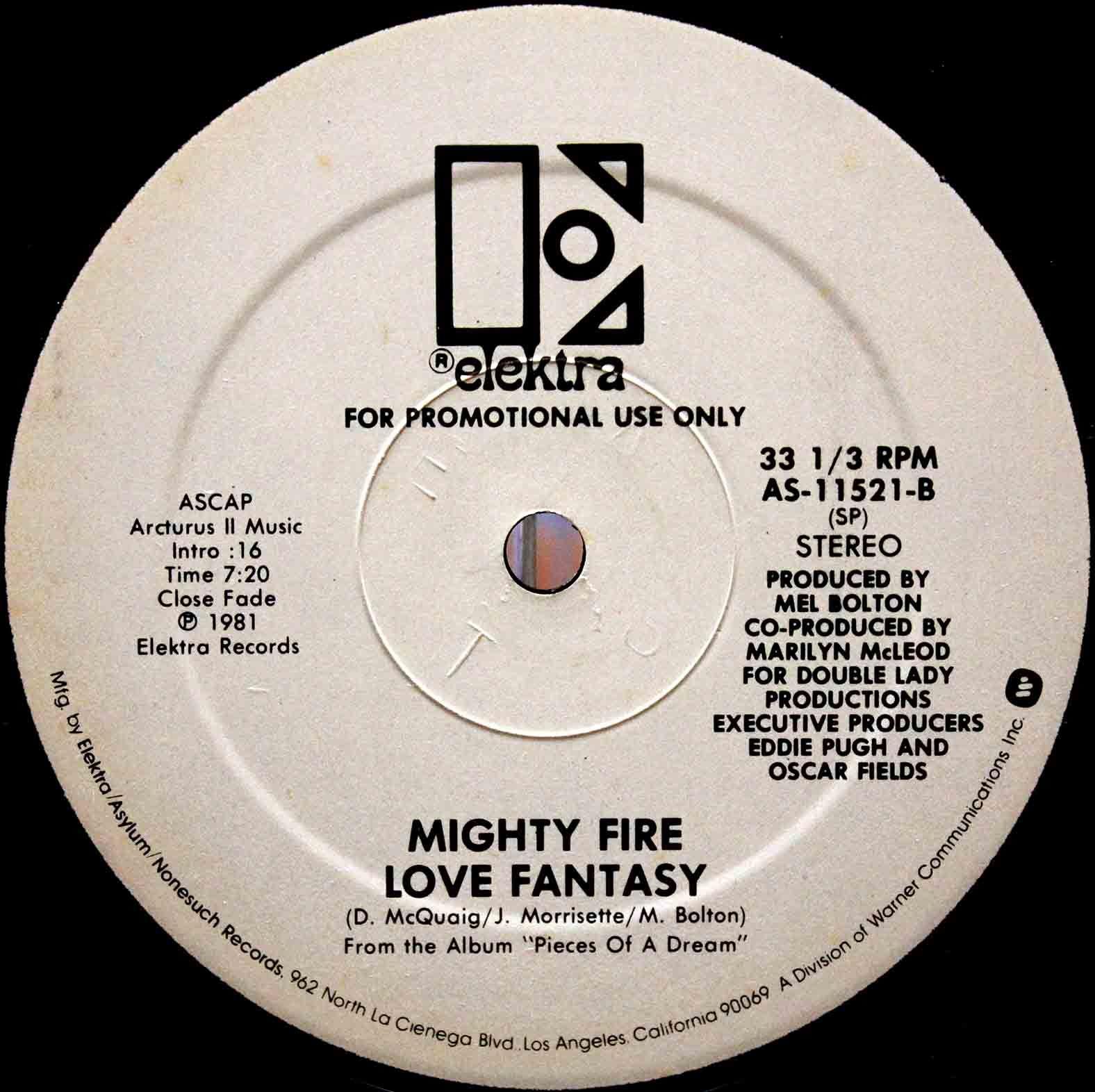 Mighty Fire - Love Fantasy 03