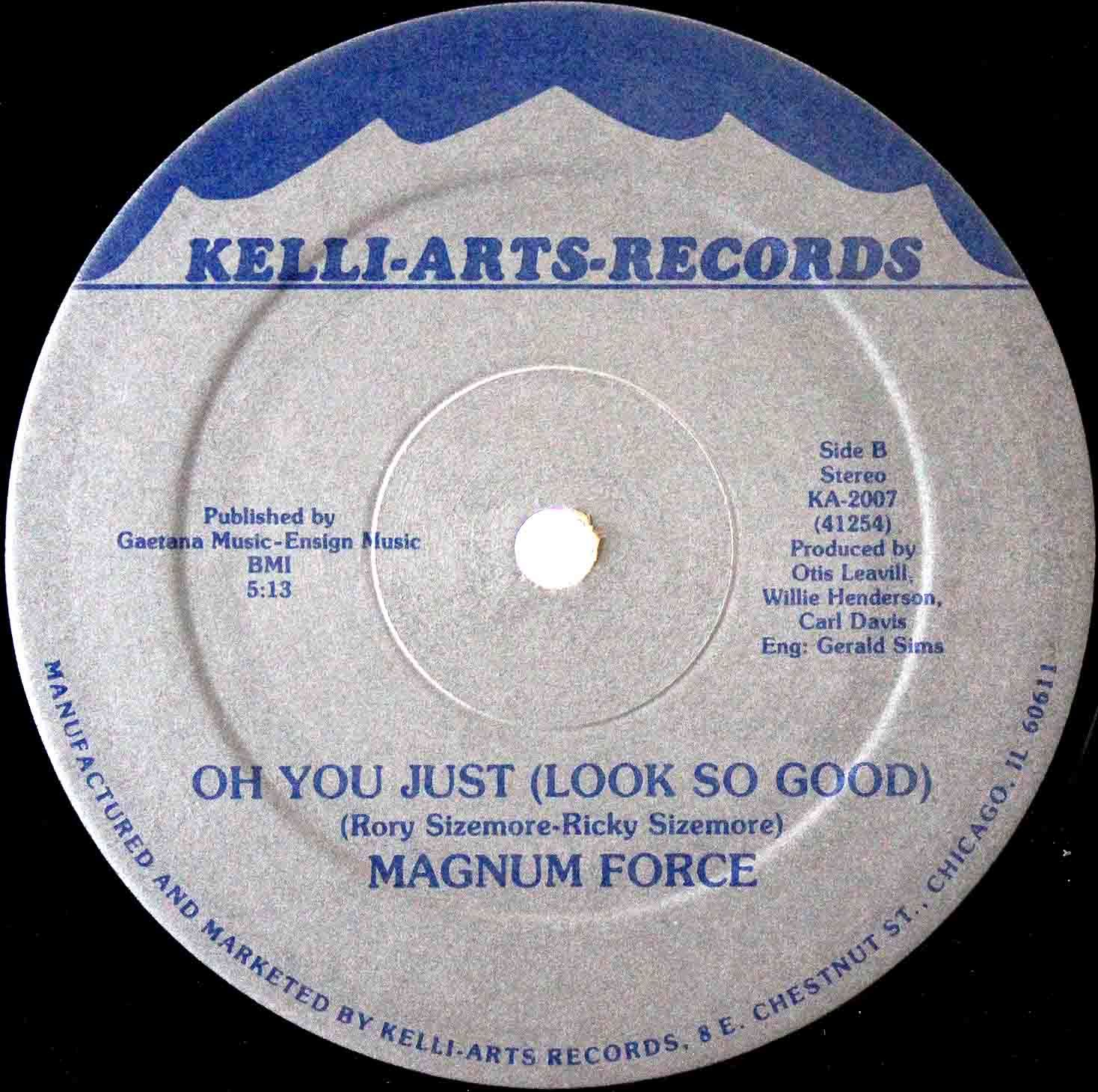 Magnum Force - Girl Youre Too Cool 04