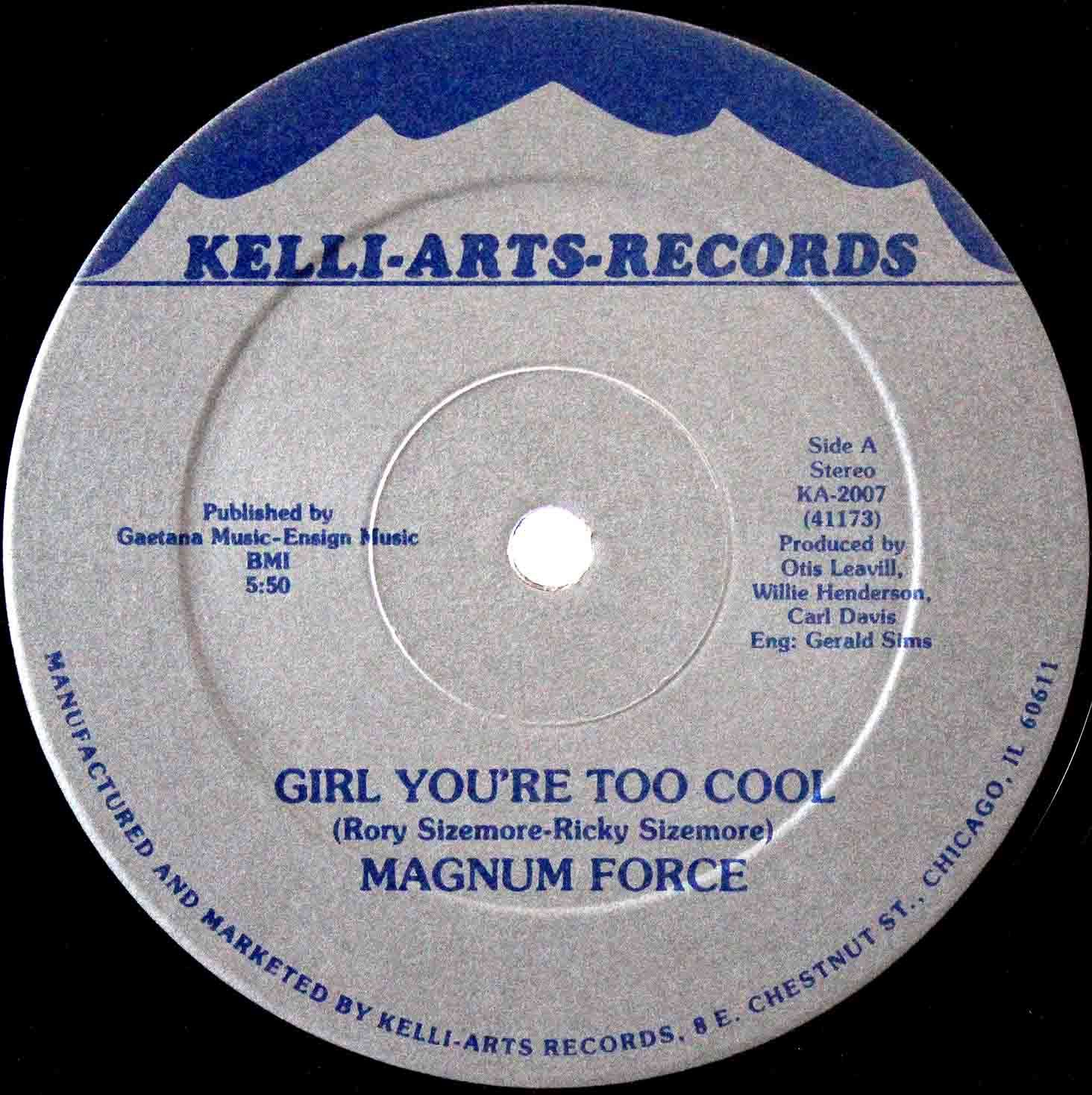 Magnum Force - Girl Youre Too Cool 03