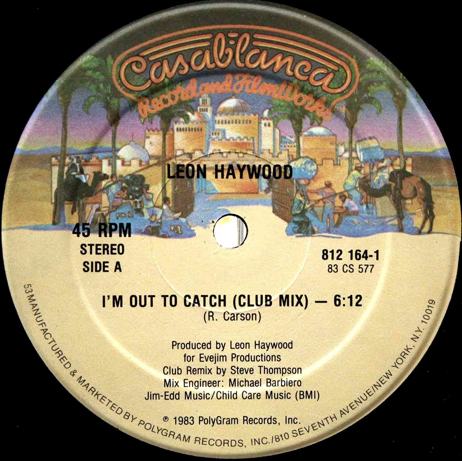 Leon Haywood - Im Out To Catch 03