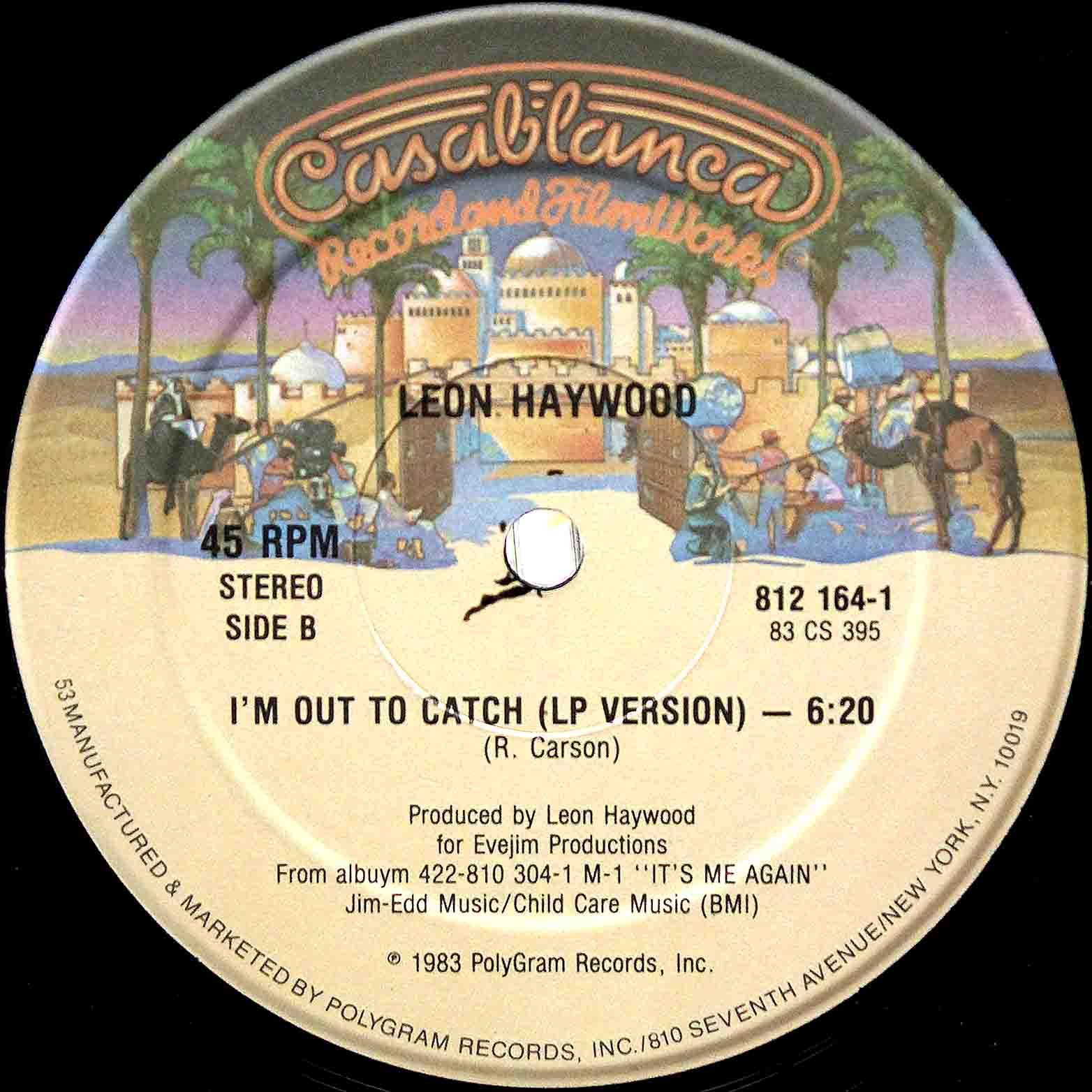 Leon Haywood - Im Out To Catch 04