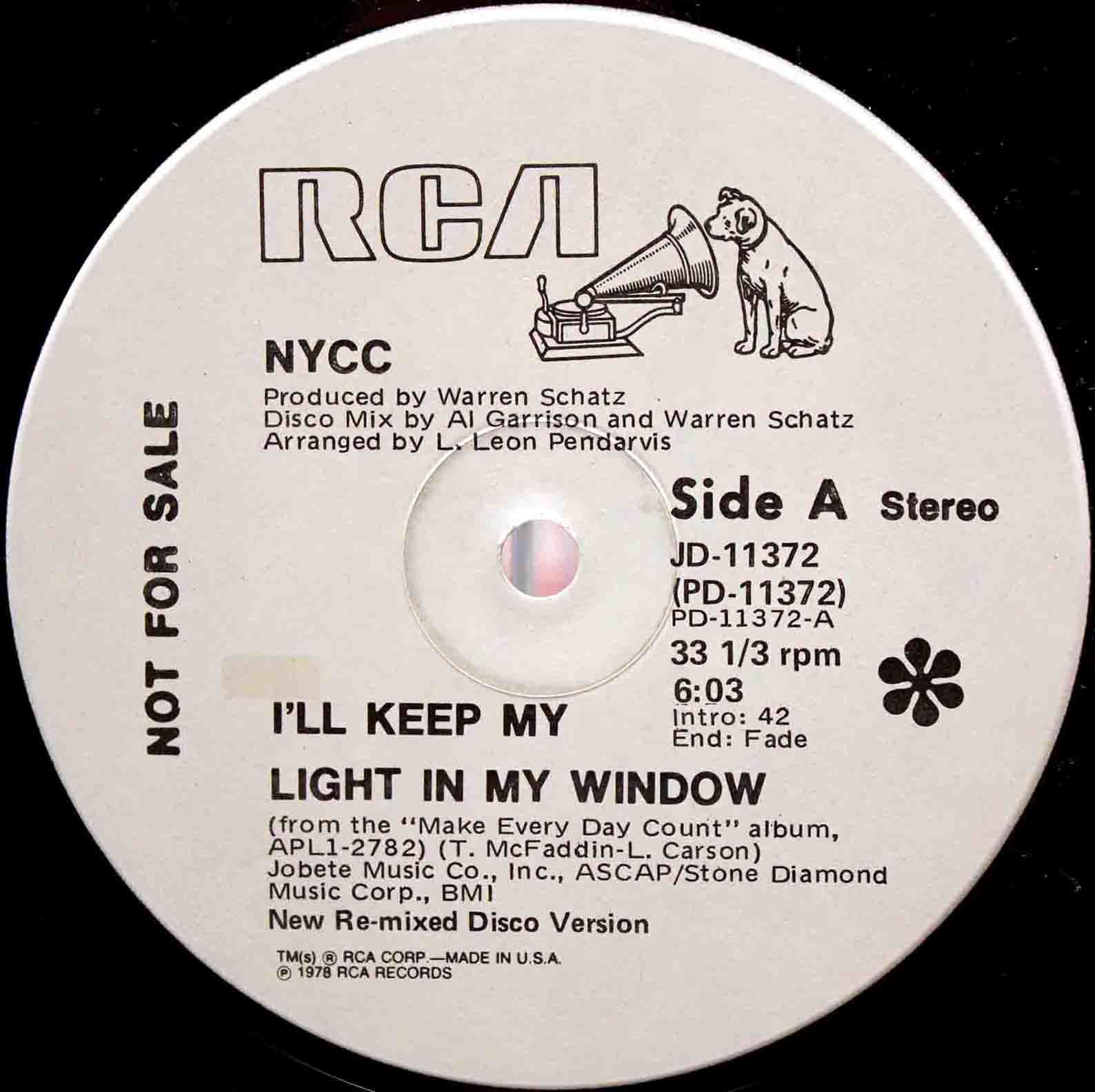 NYCC ‎– Ill Keep My Light In My Window 03