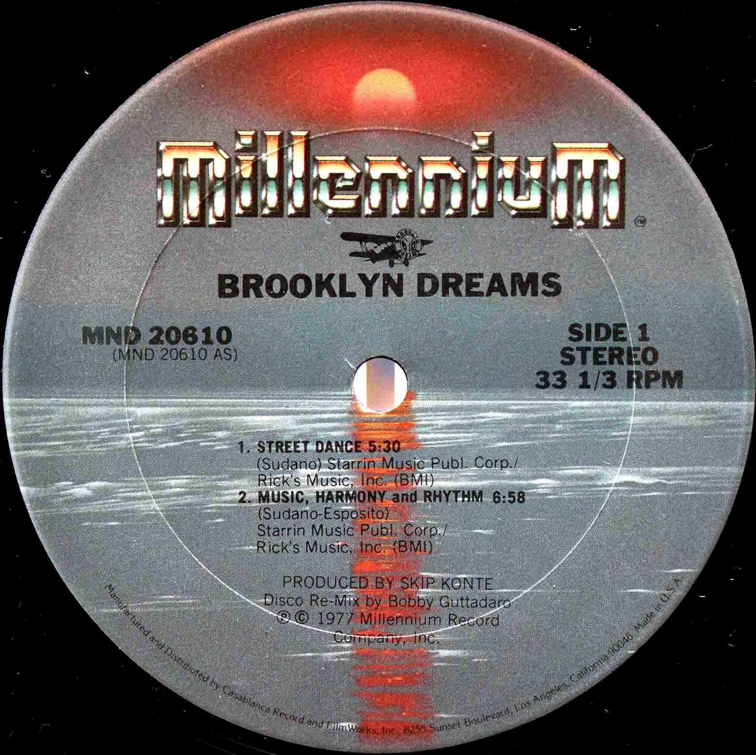 Brooklyn Dreams Music, Harmony And Rhythm 03