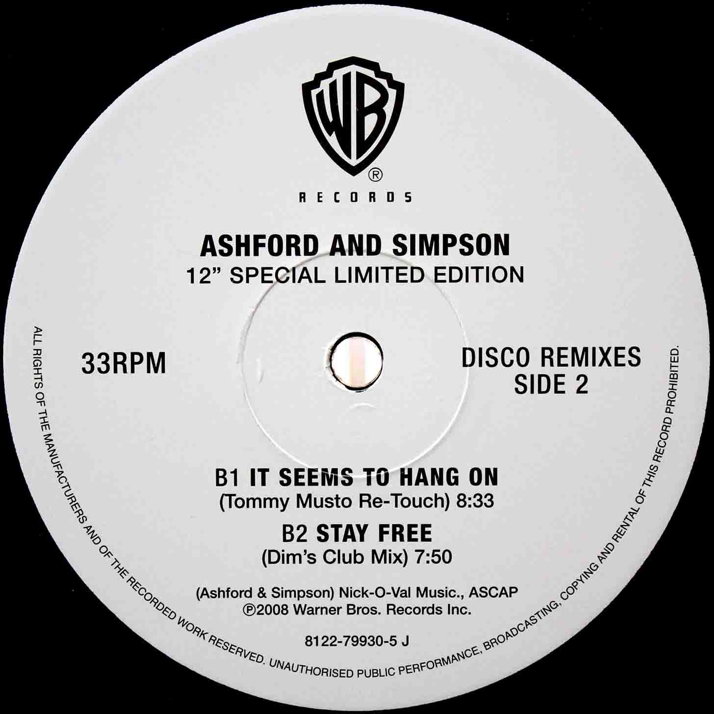 Ashford Simpson - It Seems To Hang On (Tommy Musto Re-Touch) 02