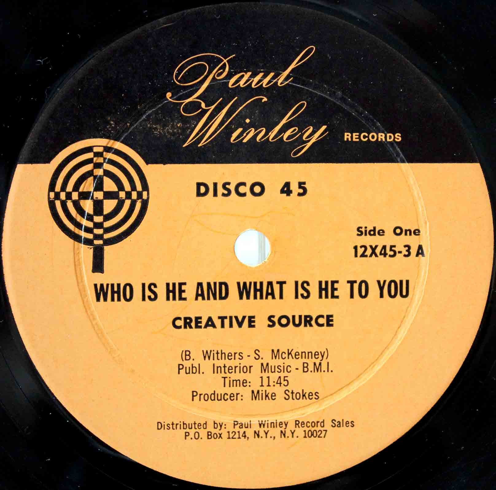 Creative Source - Who Is He And What Is He To You 02