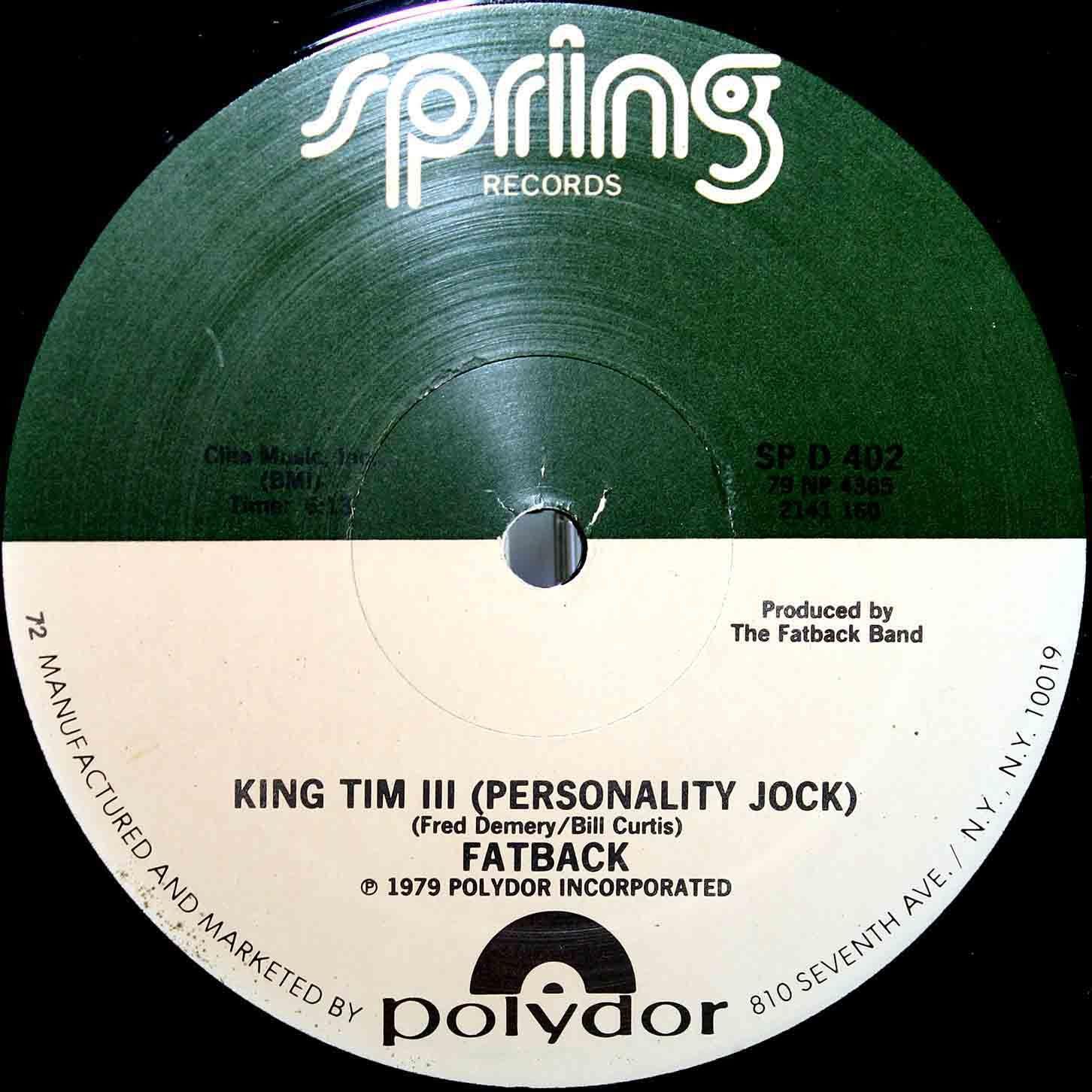 Fatback King Tim III 03